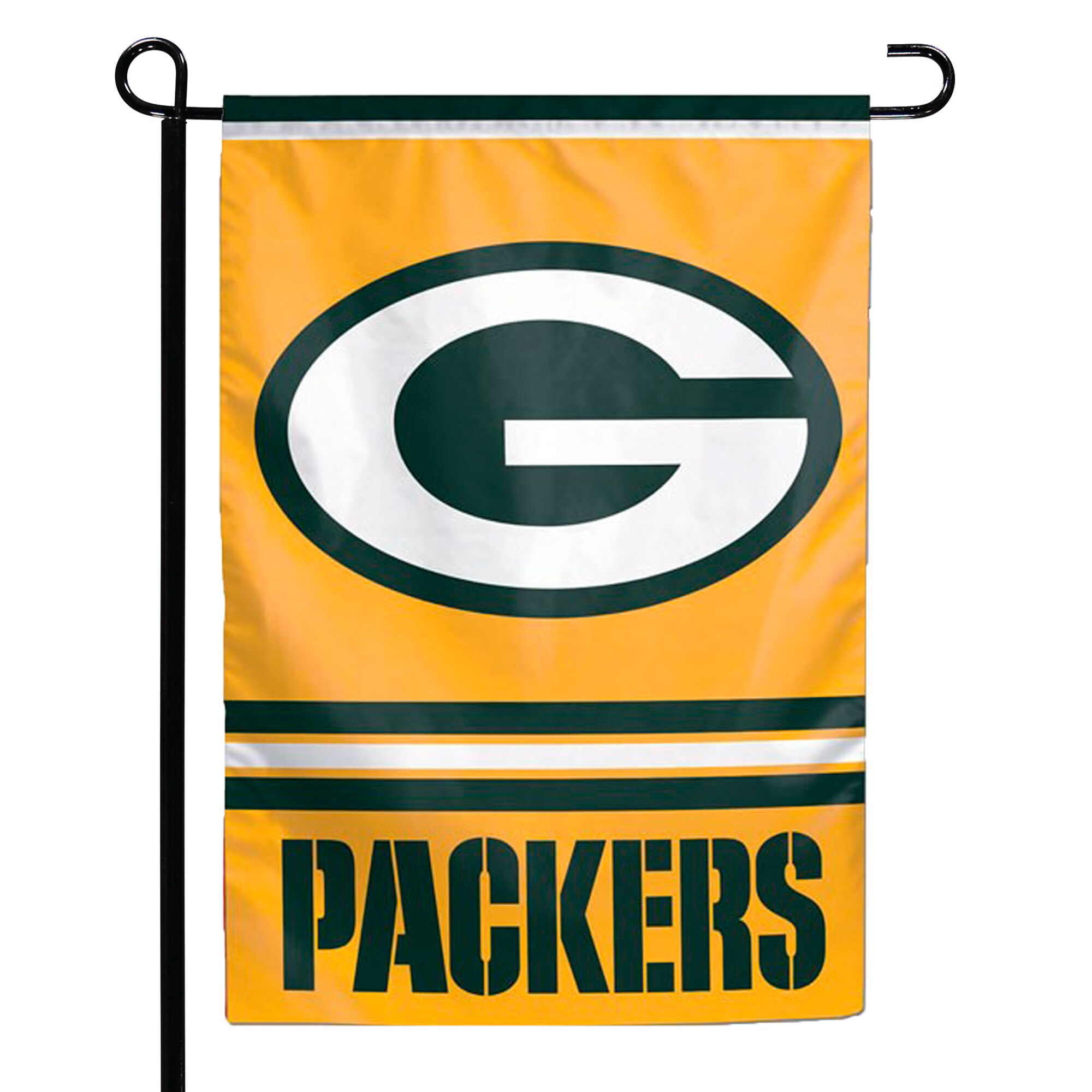 "Green Bay Packers WinCraft 12"" x 18"" Double-Sided Garden Flag"