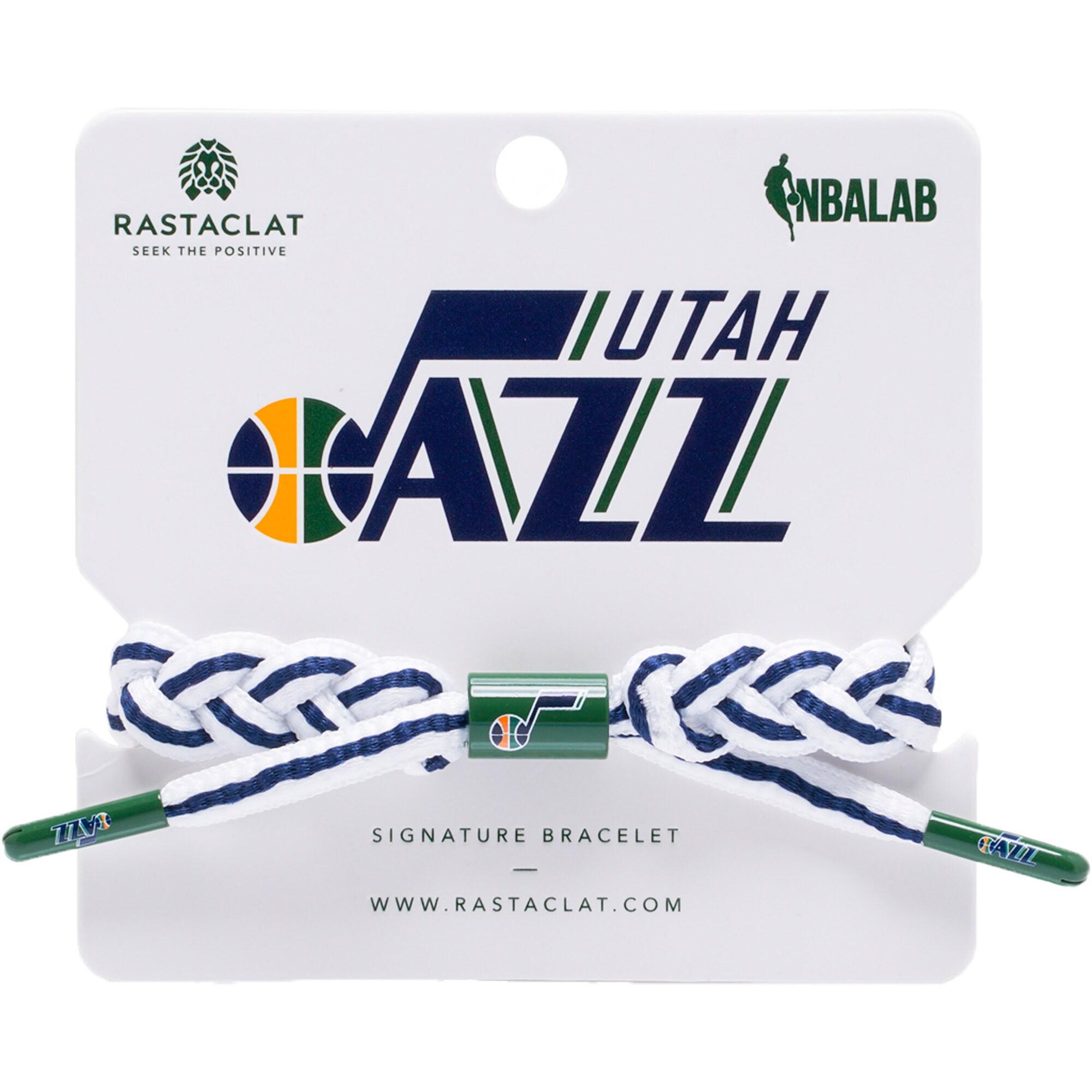 Utah Jazz Rastaclat Team Signature Away Bracelet