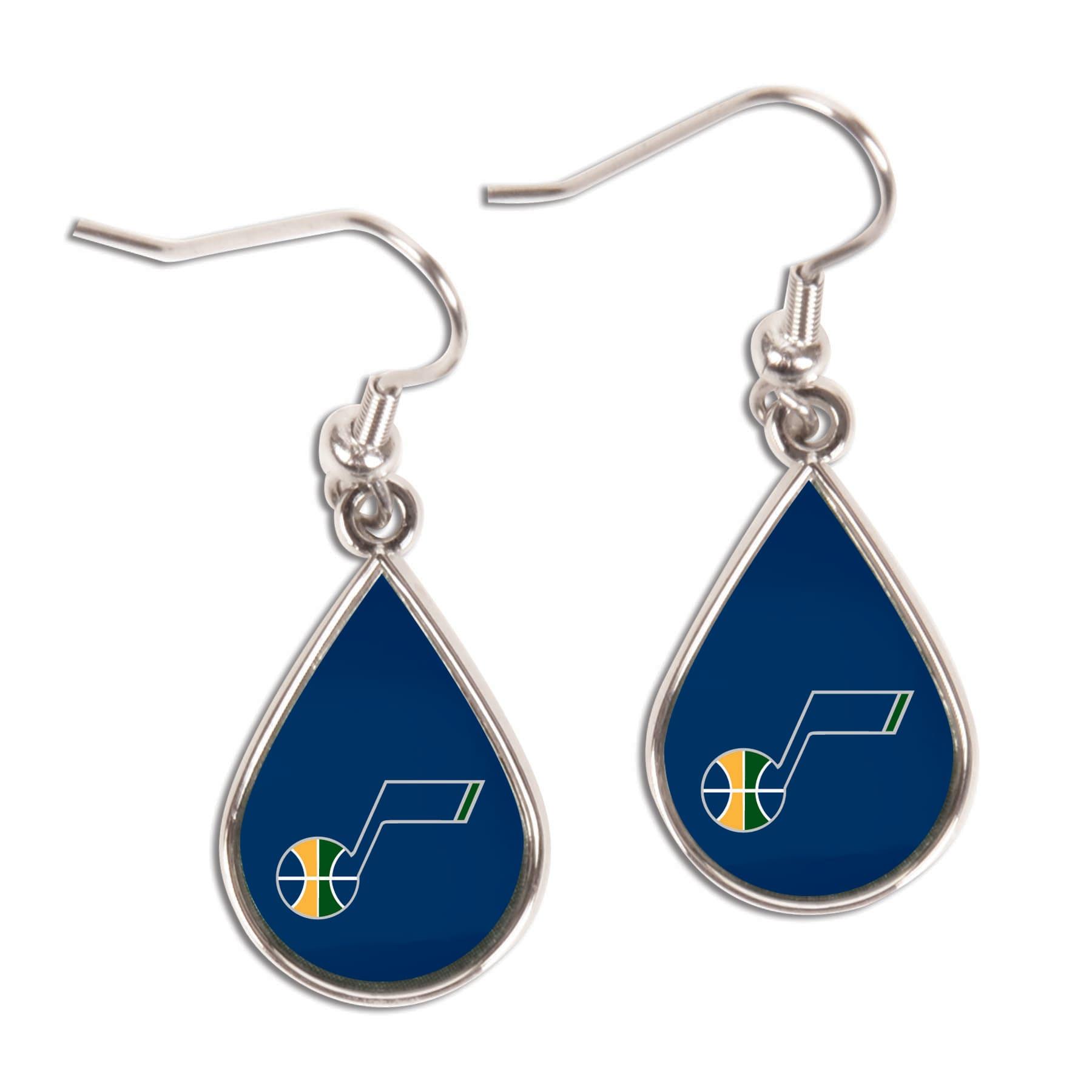 Utah Jazz WinCraft Tear Drop Dangle Earrings