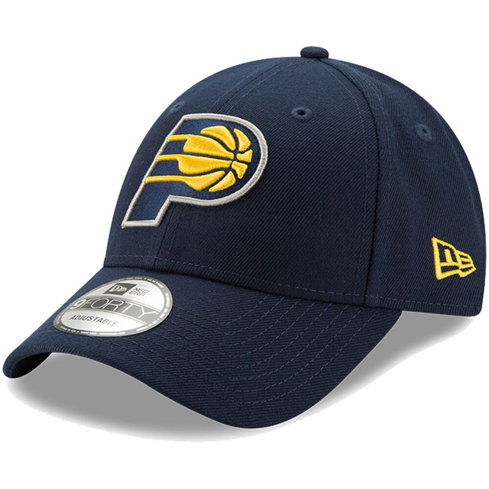 Indiana Pacers New Era Youth Junior The League 9FORTY Adjustable Hat - Navy