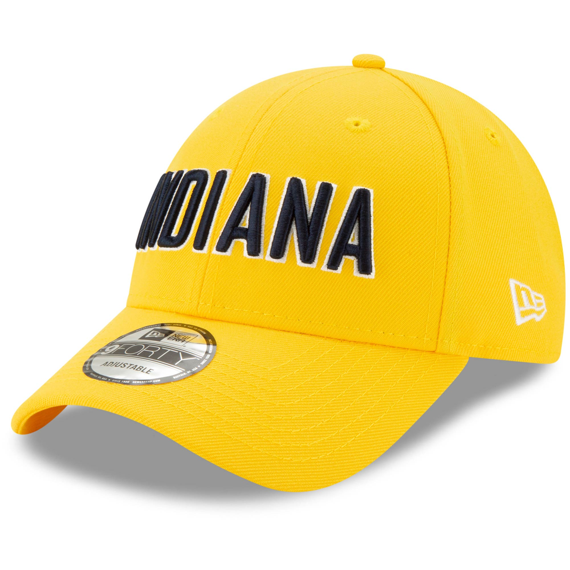Indiana Pacers New Era Team Statement Edition 9FORTY Adjustable Hat - Gold
