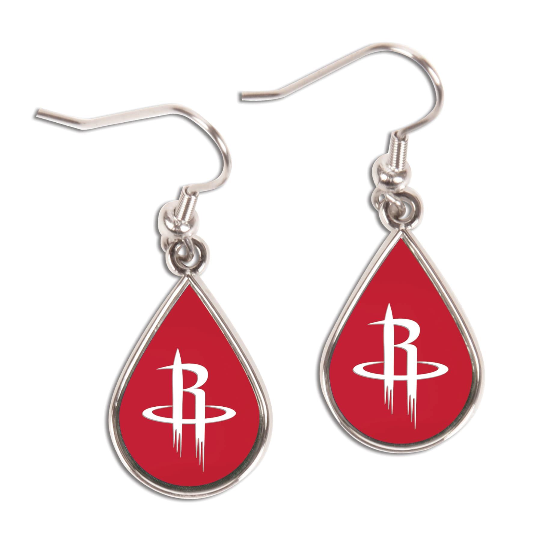 Houston Rockets WinCraft Tear Drop Dangle Earrings