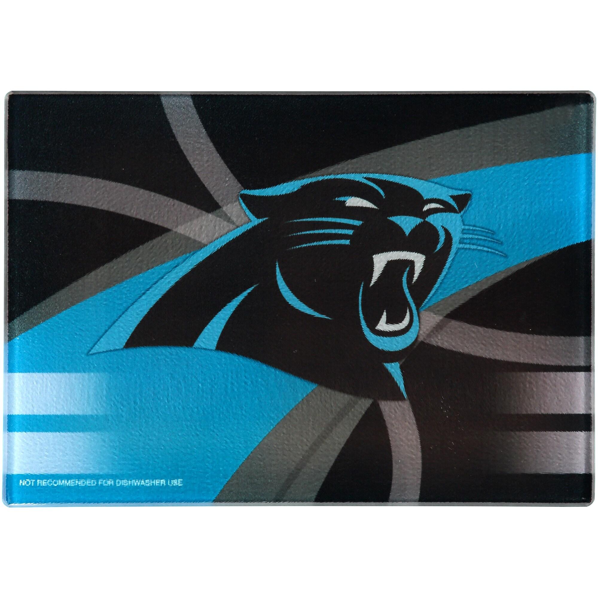 Carolina Panthers 8'' x 11.75'' Carbon Fiber Cutting Board
