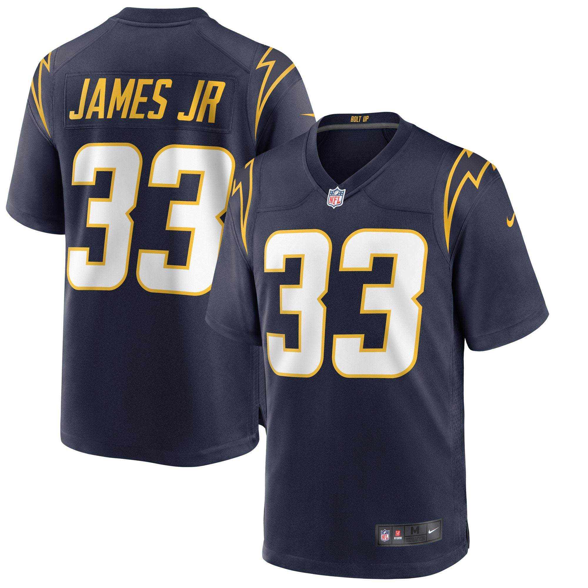 Derwin James Los Angeles Chargers Nike Alternate Game Jersey - Navy