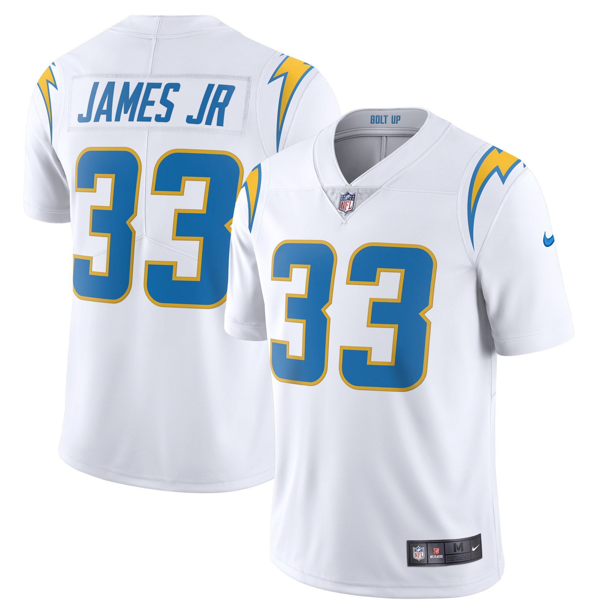 Derwin James Los Angeles Chargers Nike Vapor Limited Jersey - White