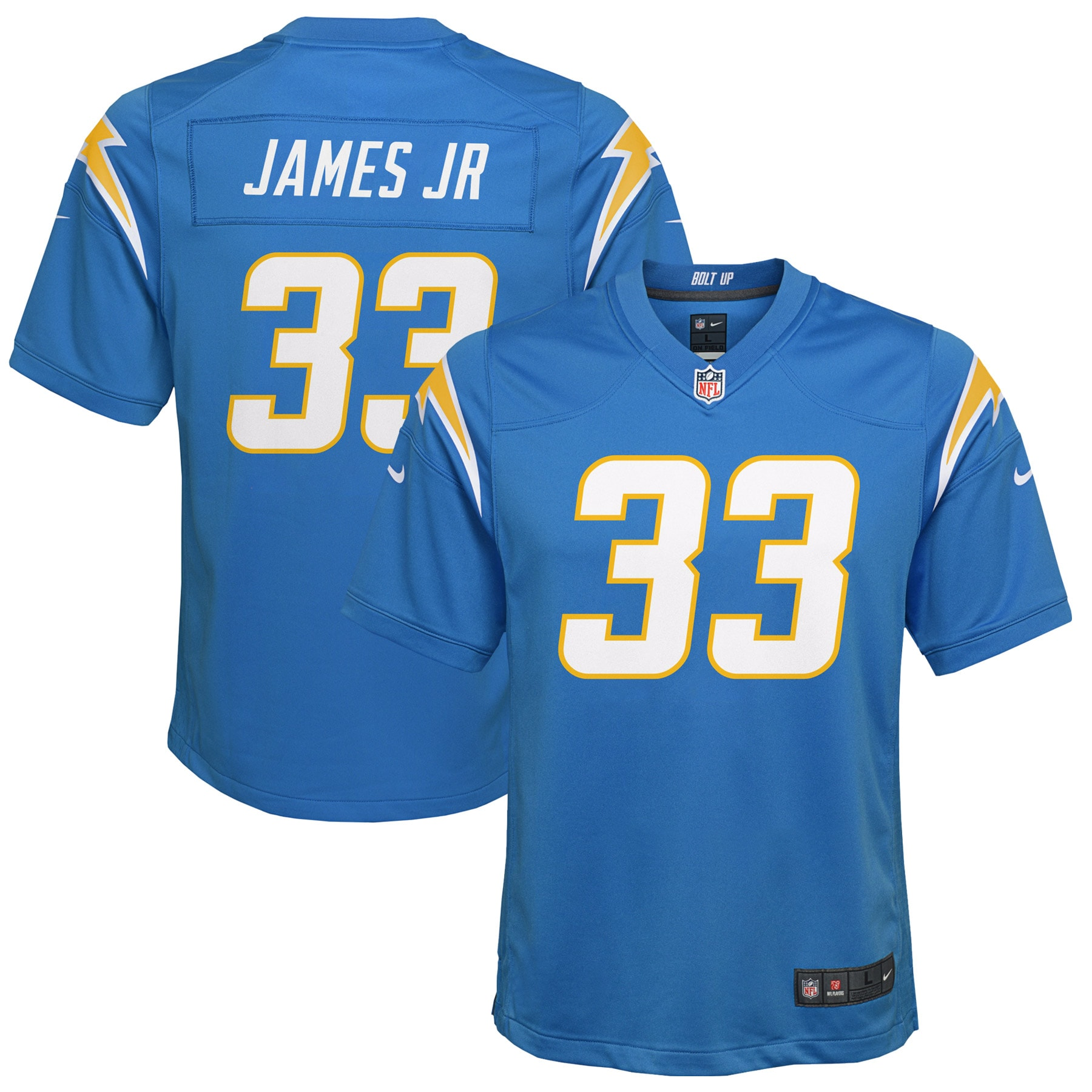 Derwin James Los Angeles Chargers Nike Youth Game Jersey - Powder Blue