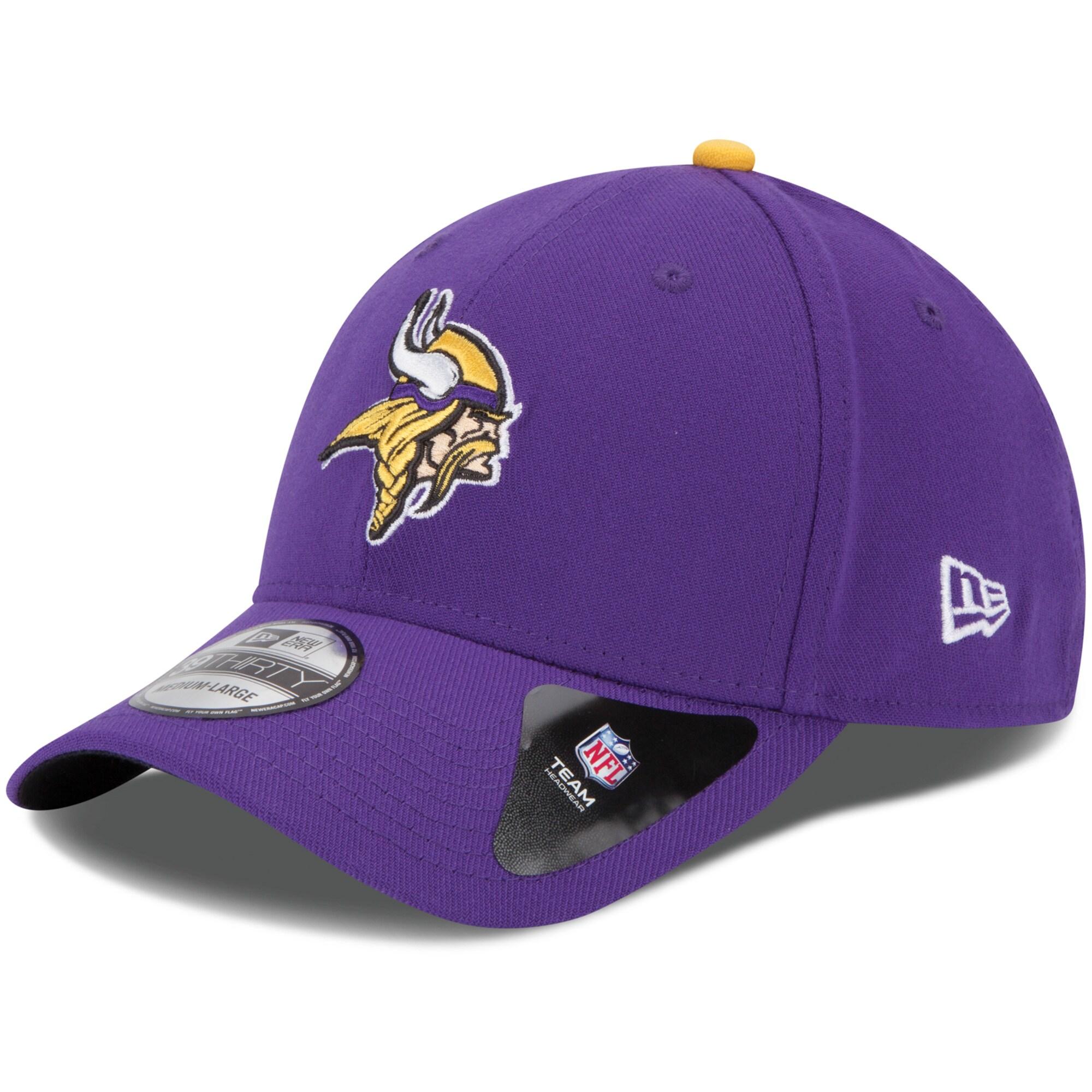 Minnesota Vikings New Era Youth Team Classic 39THIRTY Flex Hat - Purple