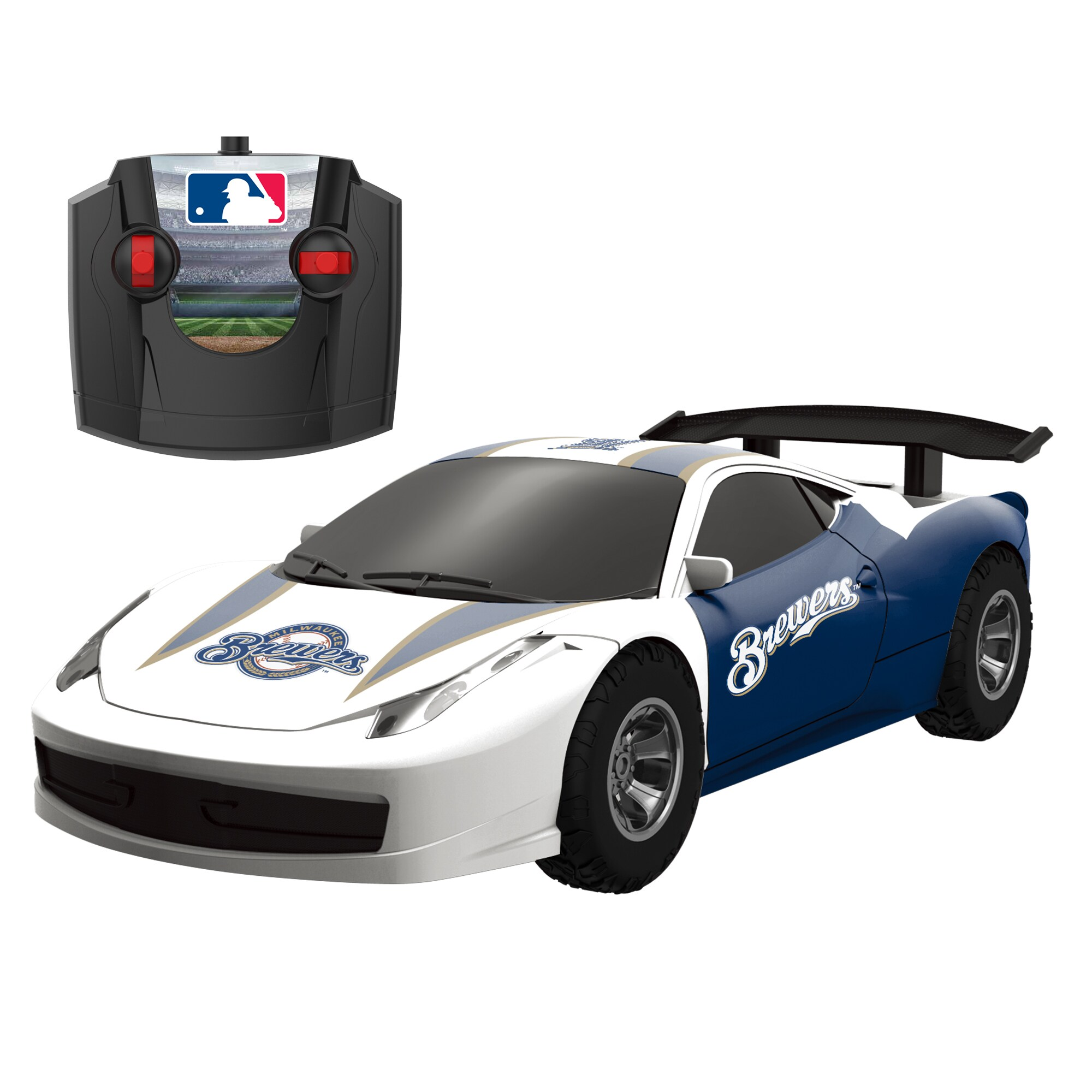 Milwaukee Brewers Remote Controlled Stadium Racer