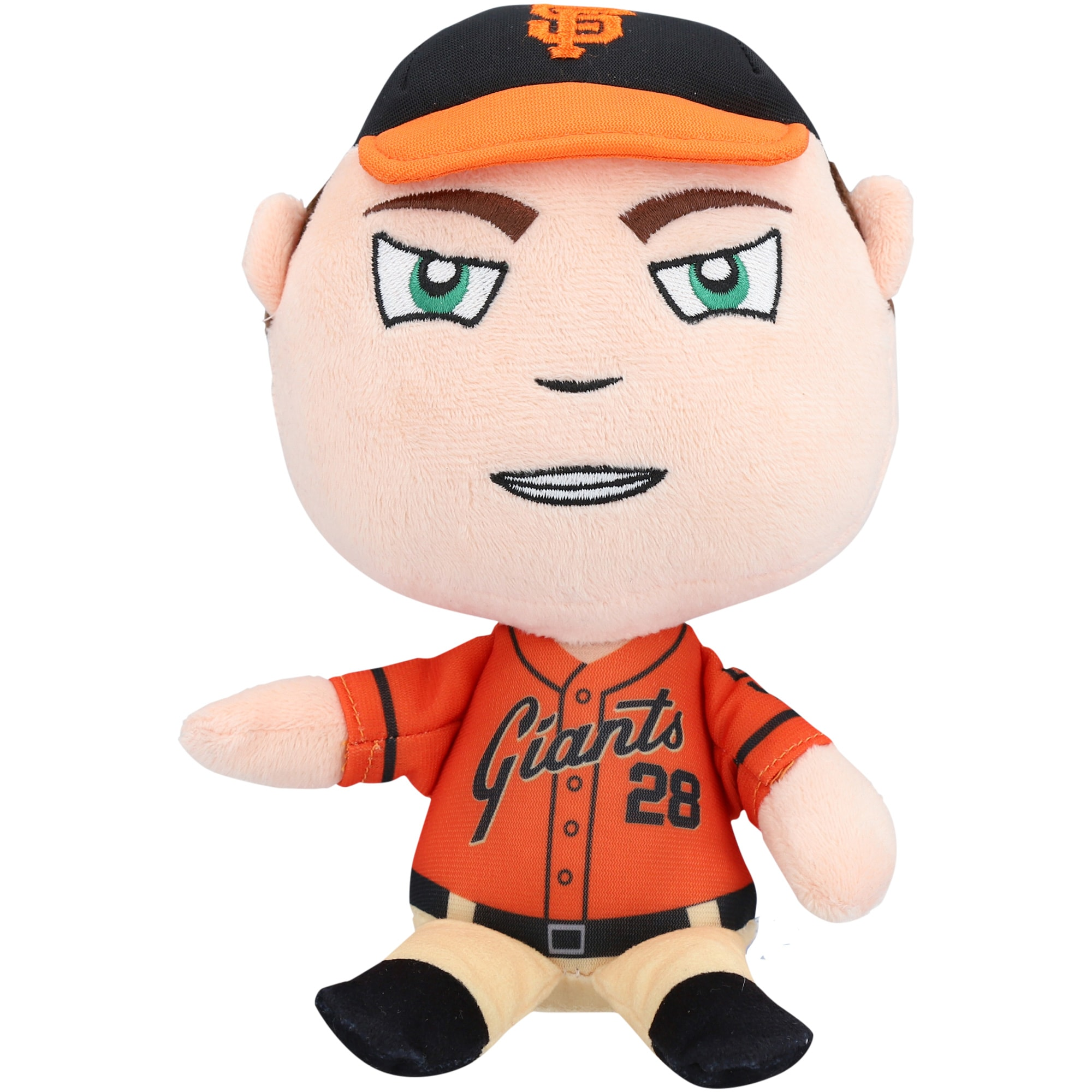 Buster Posey San Francisco Giants FOCO Baby Bros Plush Toy