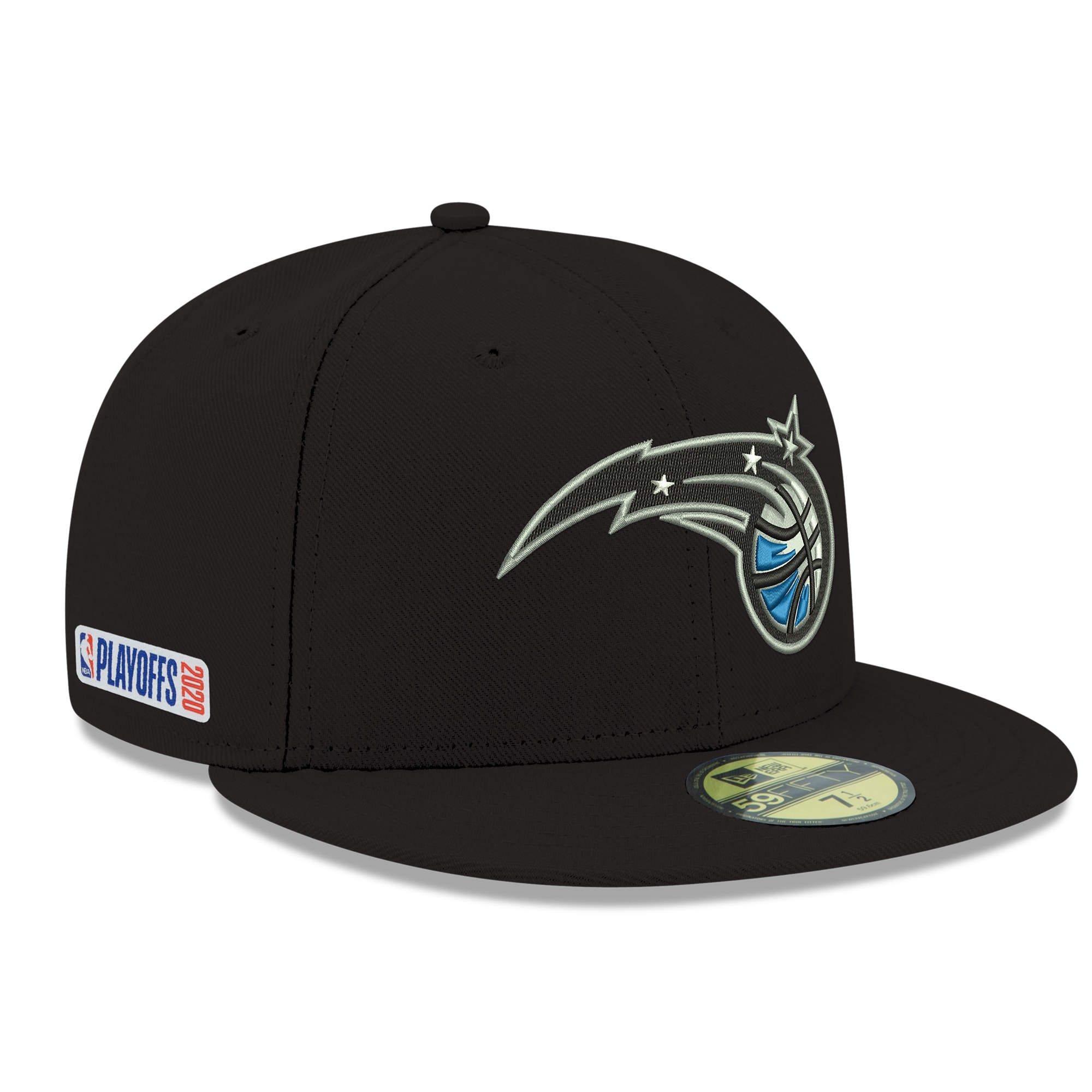 Orlando Magic New Era 2020 NBA Playoffs Bound 59FIFTY Fitted Hat - Black
