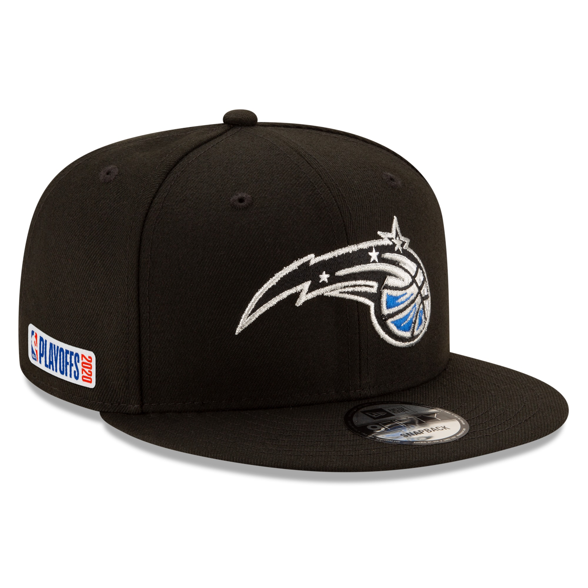 Orlando Magic New Era 2020 NBA Playoffs Bound 9FIFTY Snapback Adjustable Hat - Black