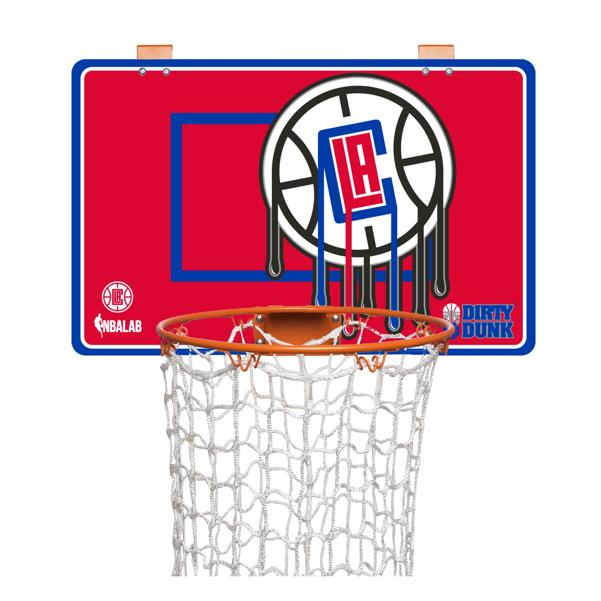 LA Clippers Dirty Dunk Basketball Hoop Laundry Hamper