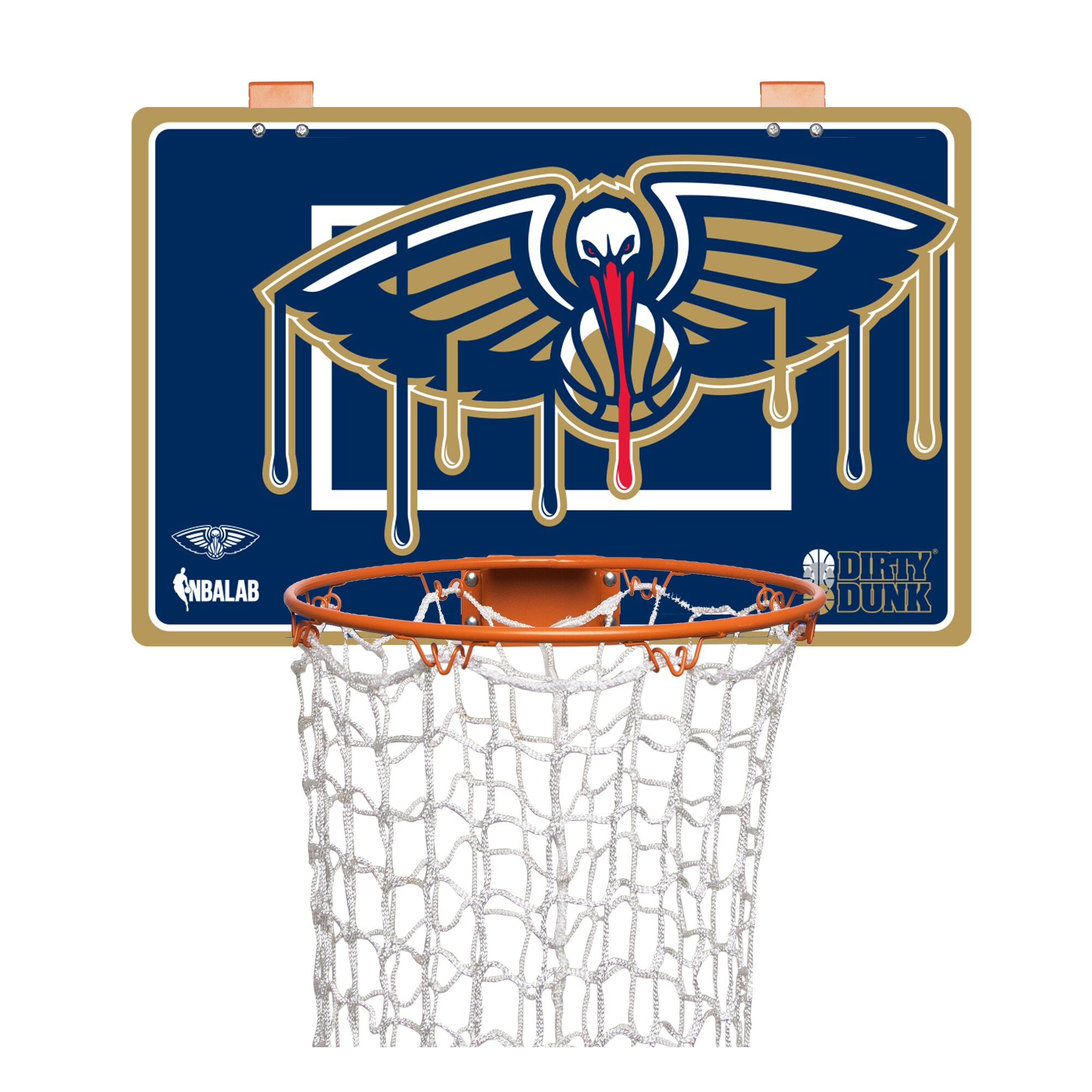 New Orleans Pelicans Dirty Dunk Basketball Hoop Laundry Hamper