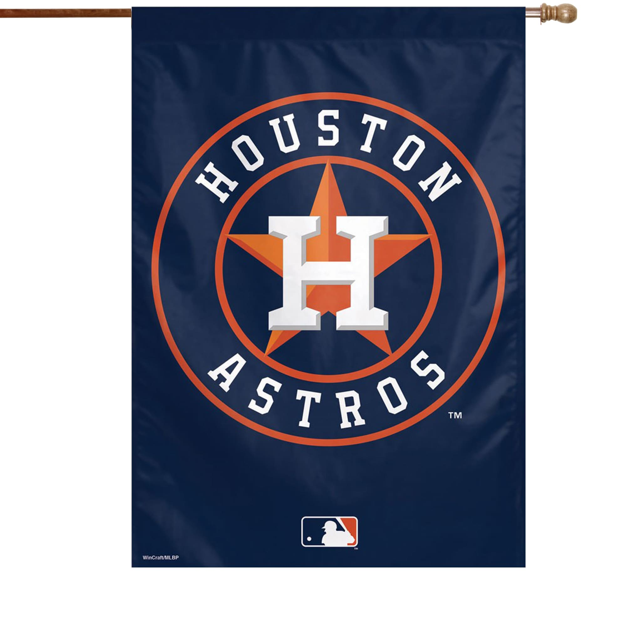 """Houston Astros WinCraft 28"""" x 40"""" Primary Logo Single-Sided Vertical Banner"""