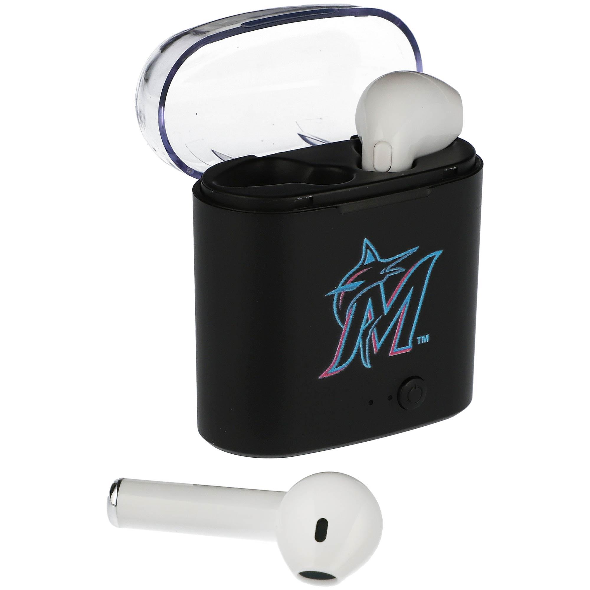 Miami Marlins True Wireless Bluetooth Earbud Headphones