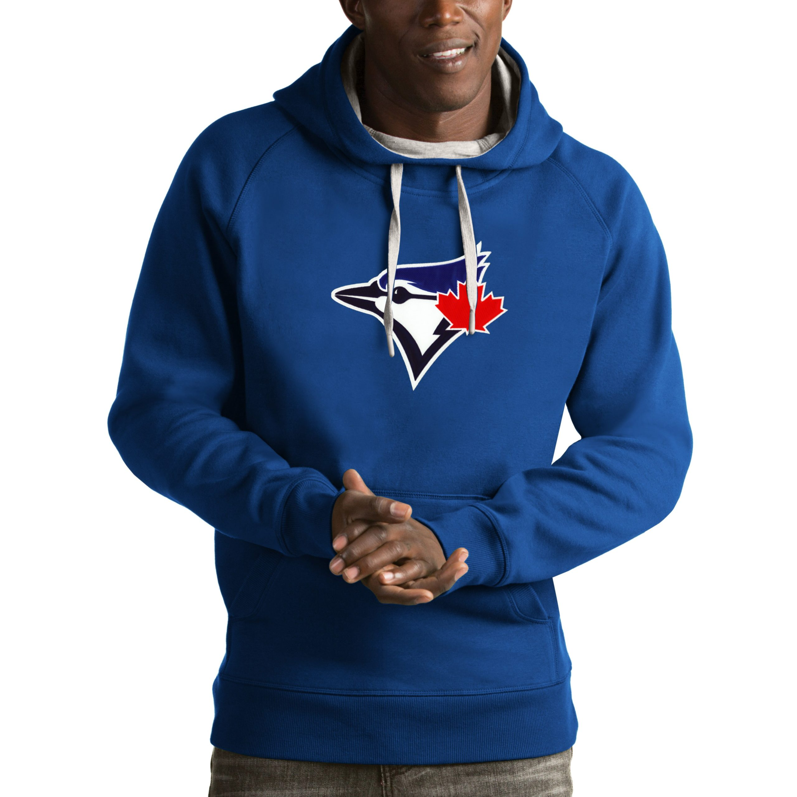 Toronto Blue Jays Antigua Victory Pullover Hoodie - Royal