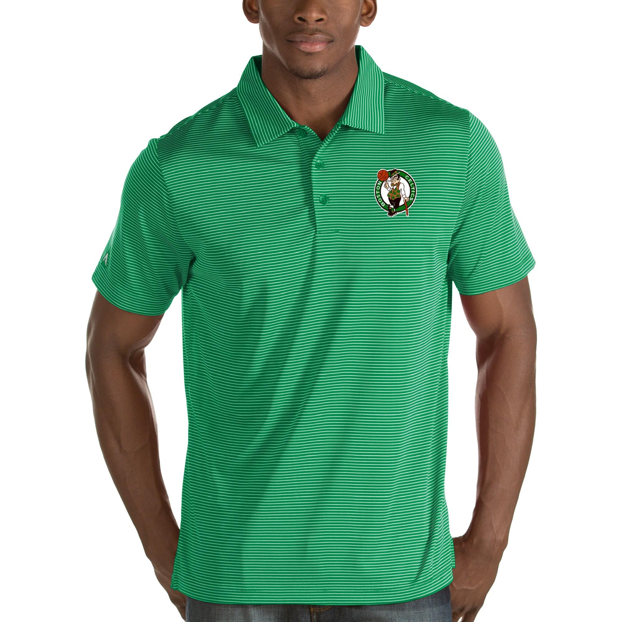 Boston Celtics Antigua Quest Polo - Green