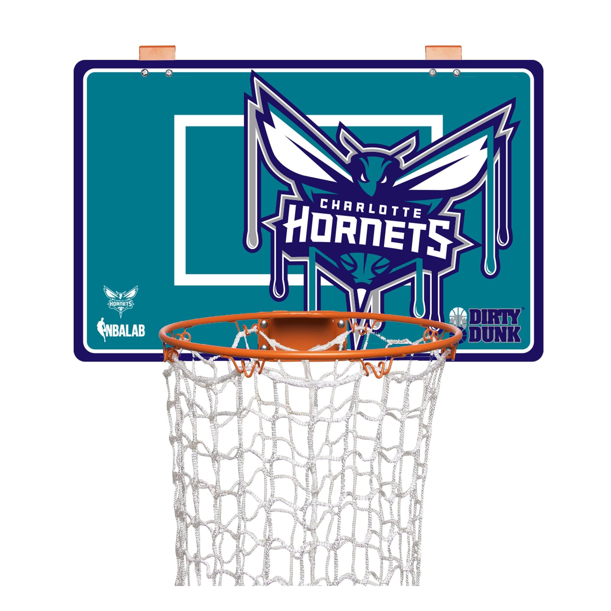 Charlotte Hornets Dirty Dunk Basketball Hoop Laundry Hamper