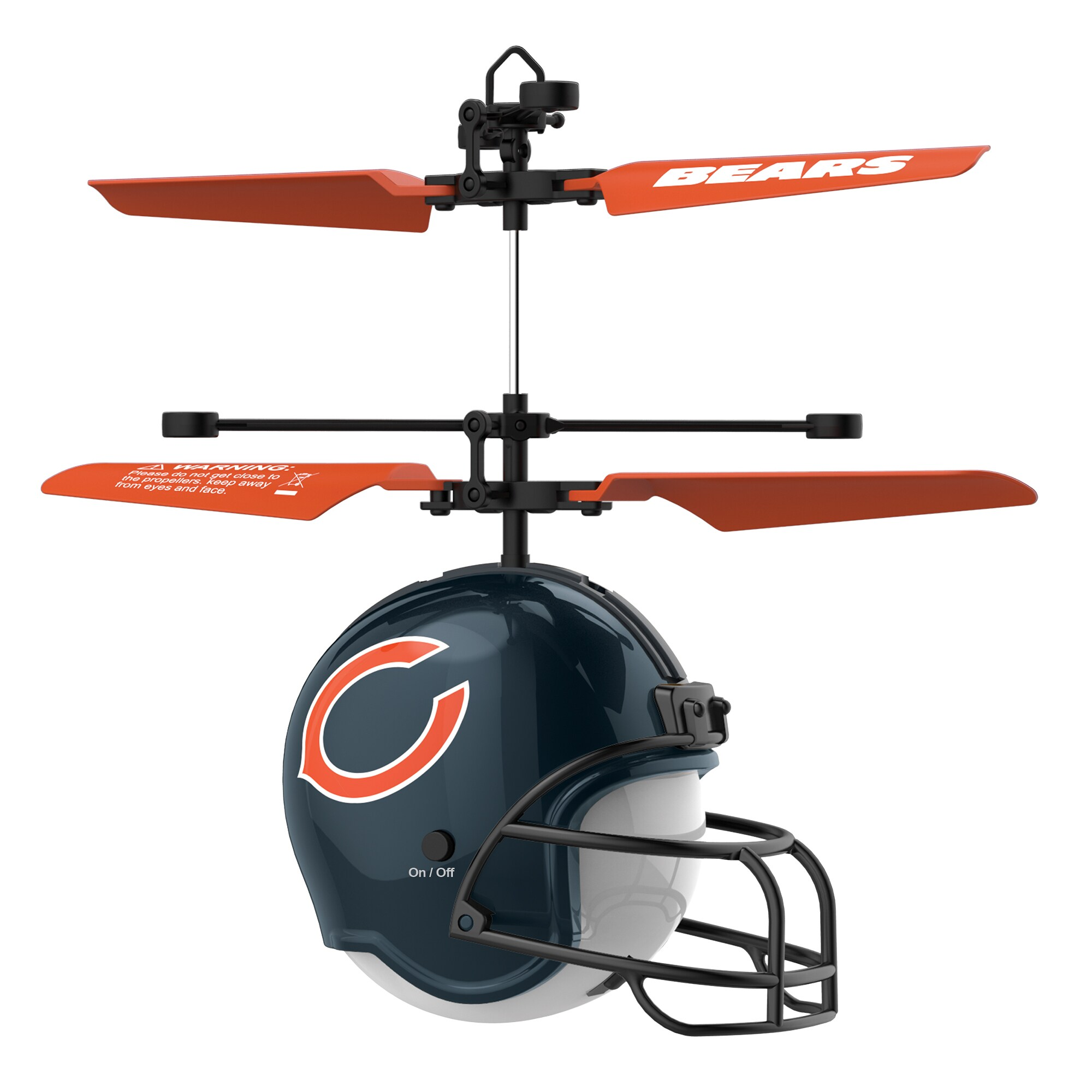 Chicago Bears Remote Control Helmet Flyer
