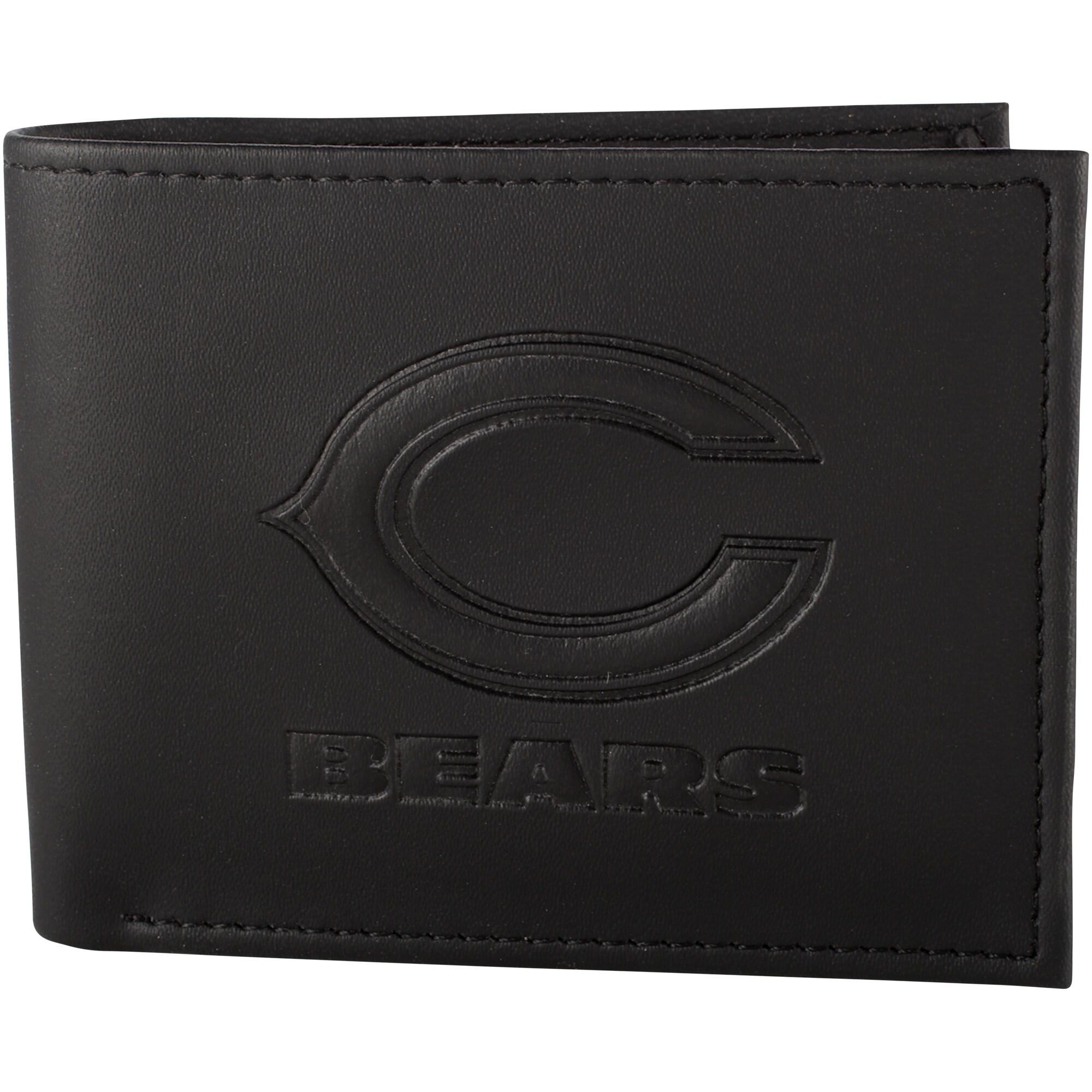 Chicago Bears Hybrid Bi-Fold Wallet - Black