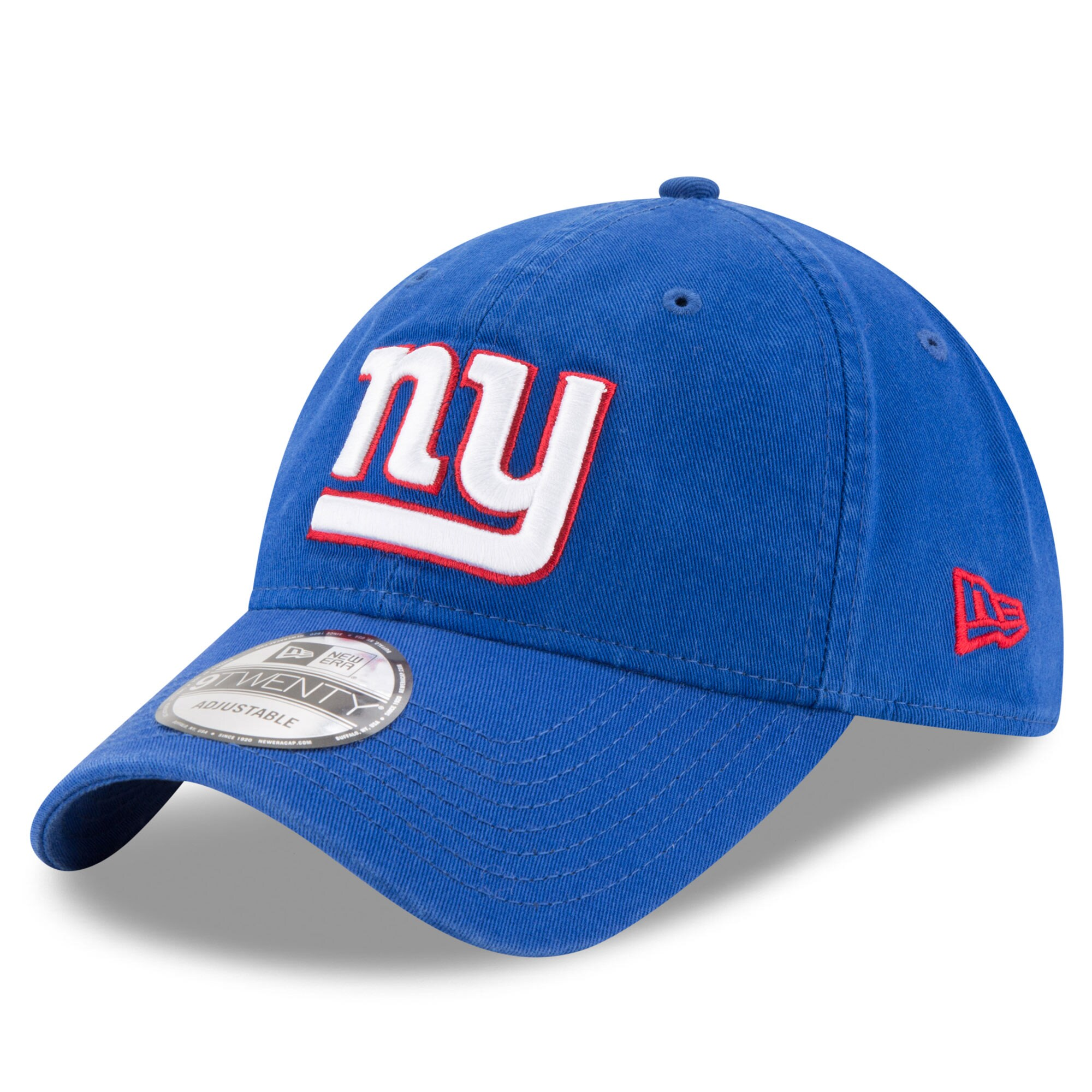 New York Giants New Era Core Classic 9TWENTY Adjustable Hat - Royal