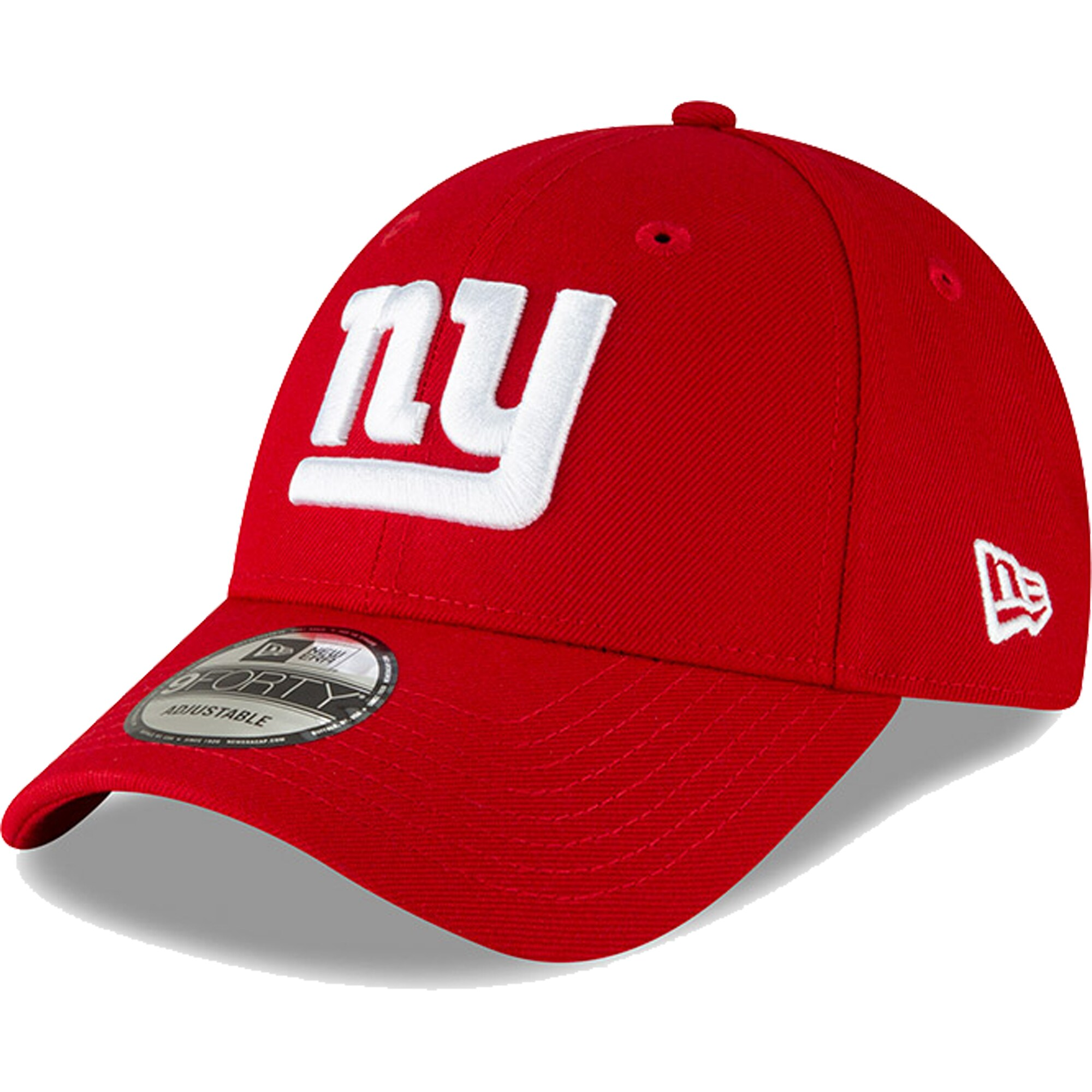 New York Giants New Era 9FORTY The League Adjustable Hat - Red