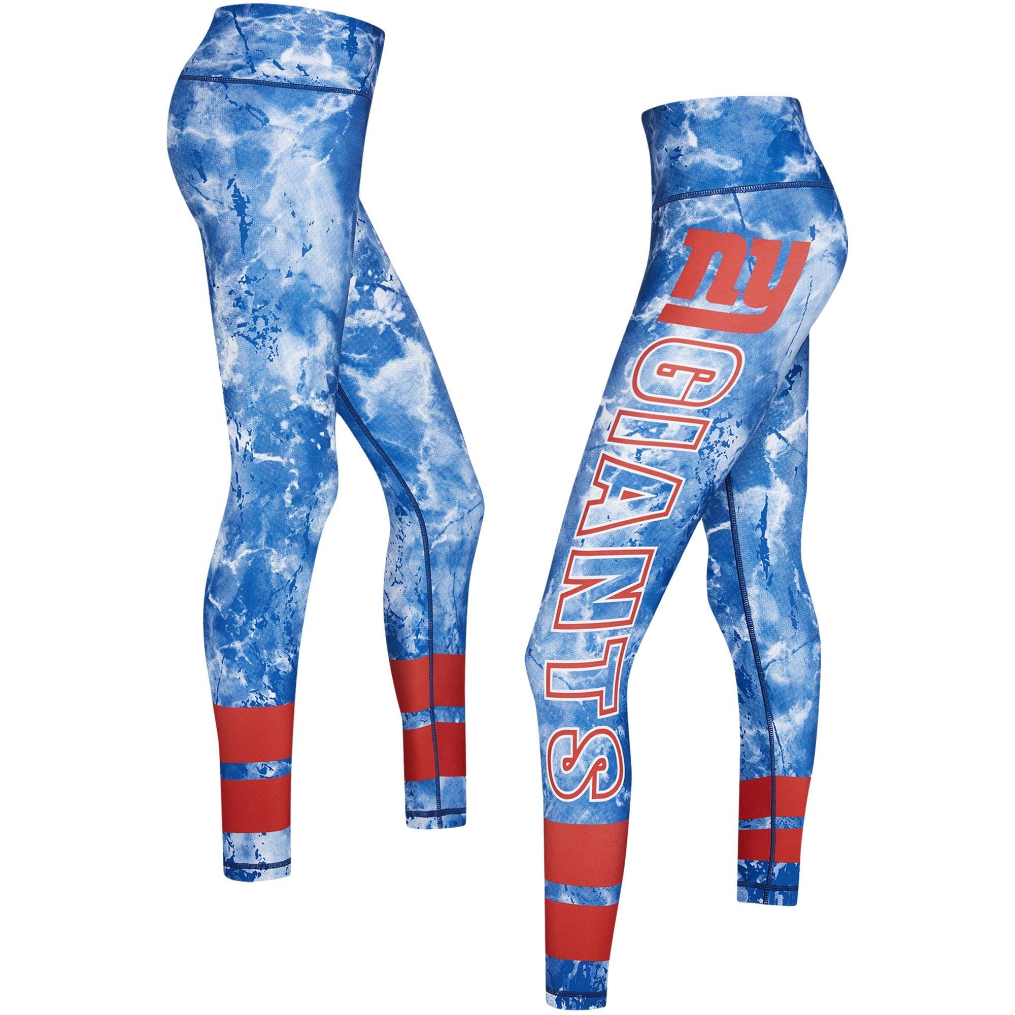 New York Giants Concepts Sport Women's Dormer Knit Leggings - Royal/Red