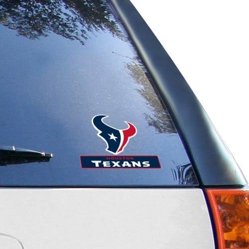 "Houston Texans WinCraft 4"" x 5"" Perfect Cut Team Logo Decal"