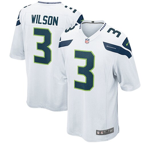 Russell Wilson Seattle Seahawks Nike Youth Game Jersey - White