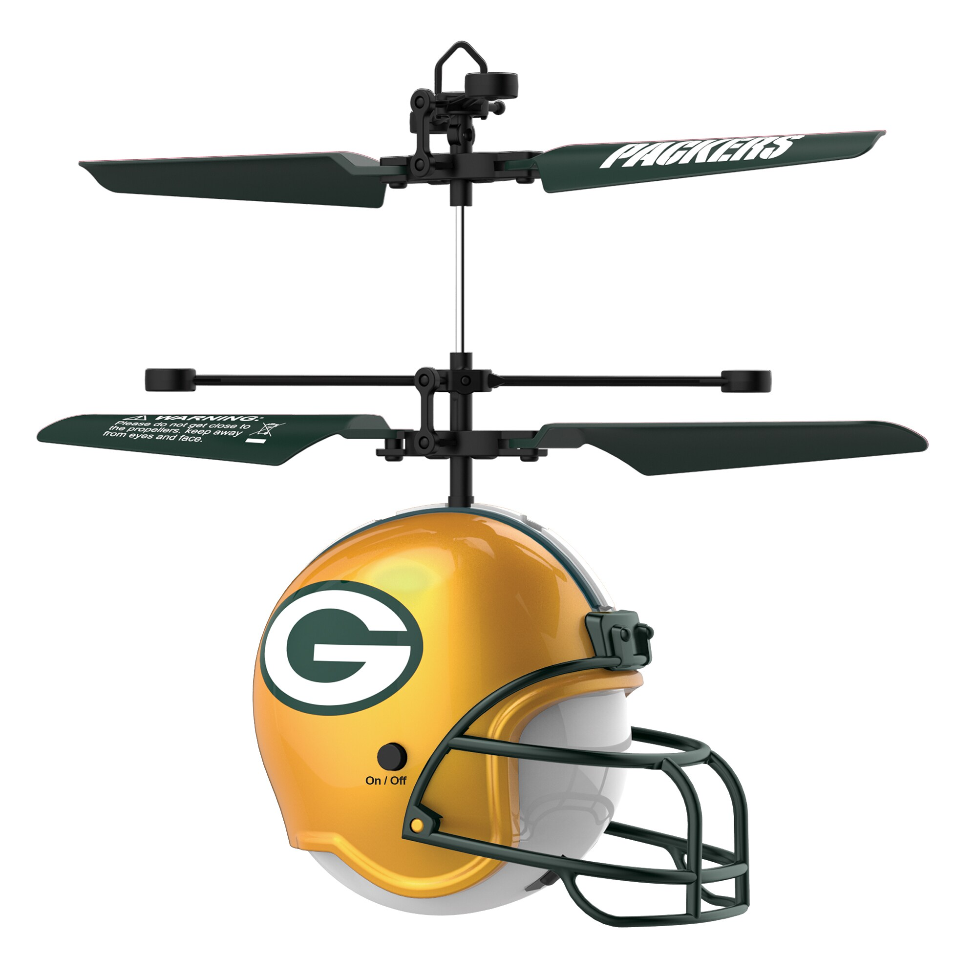 Green Bay Packers Remote Control Helmet Flyer