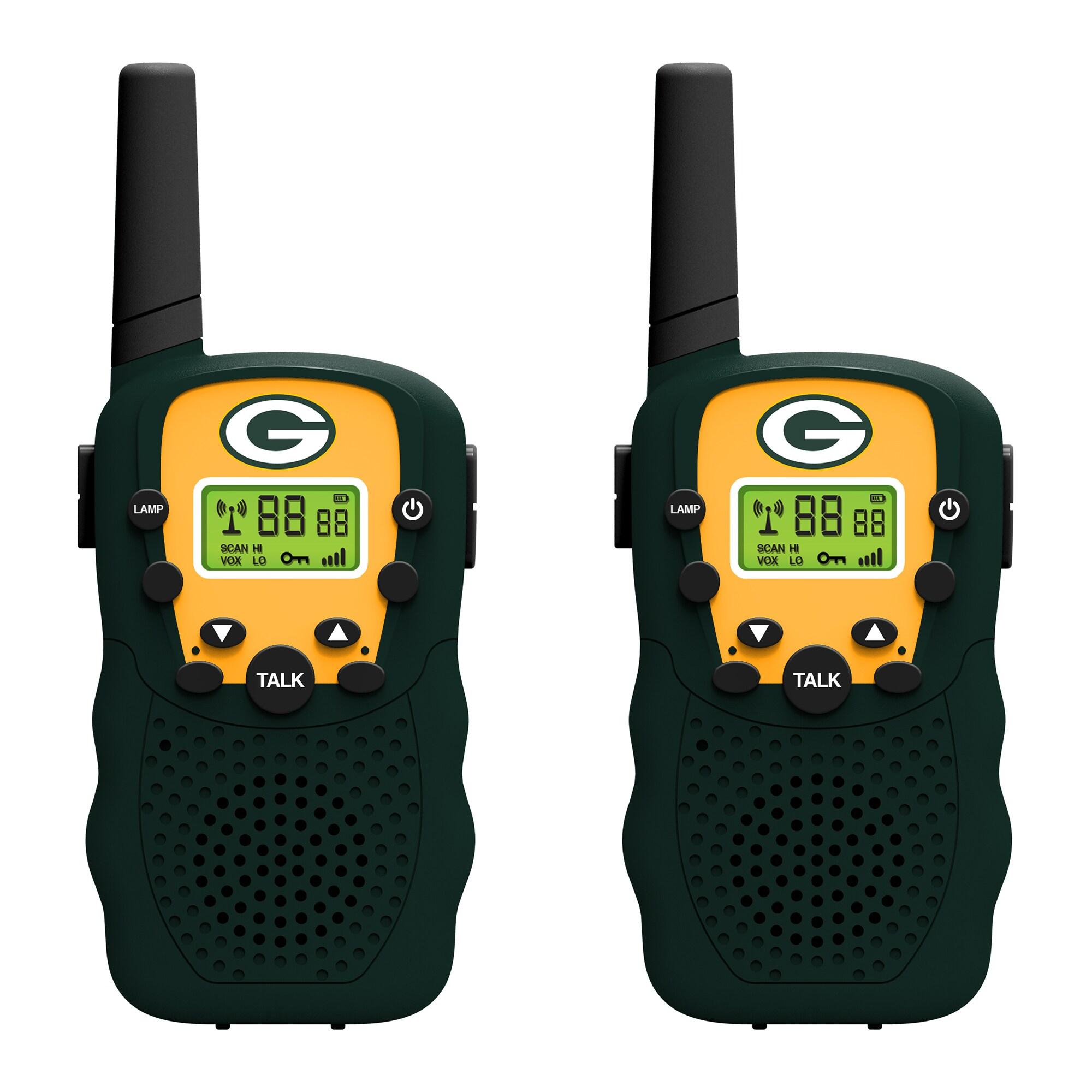 Green Bay Packers 2-Piece Team Walkie Talkies Set