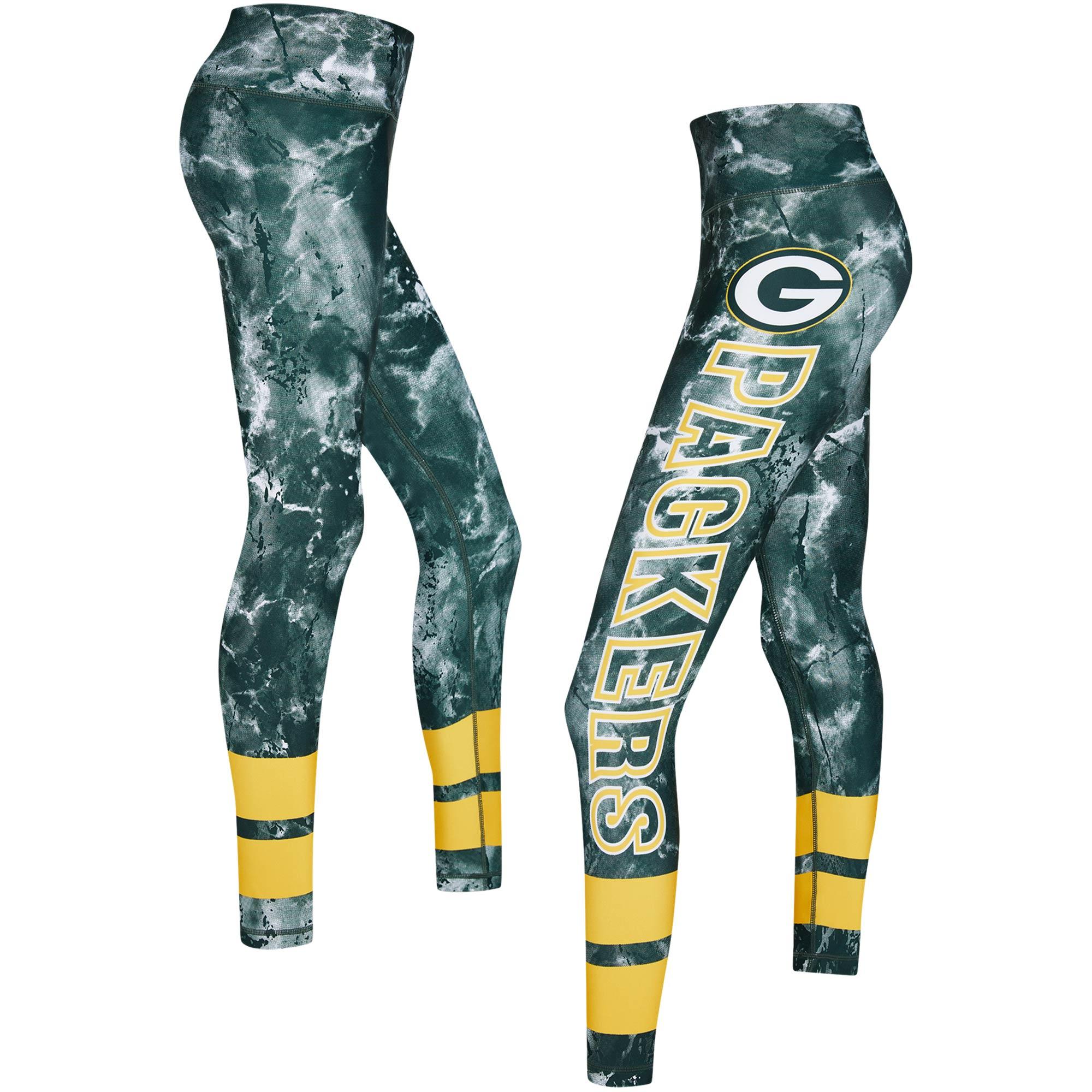 Green Bay Packers Concepts Sport Women's Dormer Knit Leggings - Green/Gold