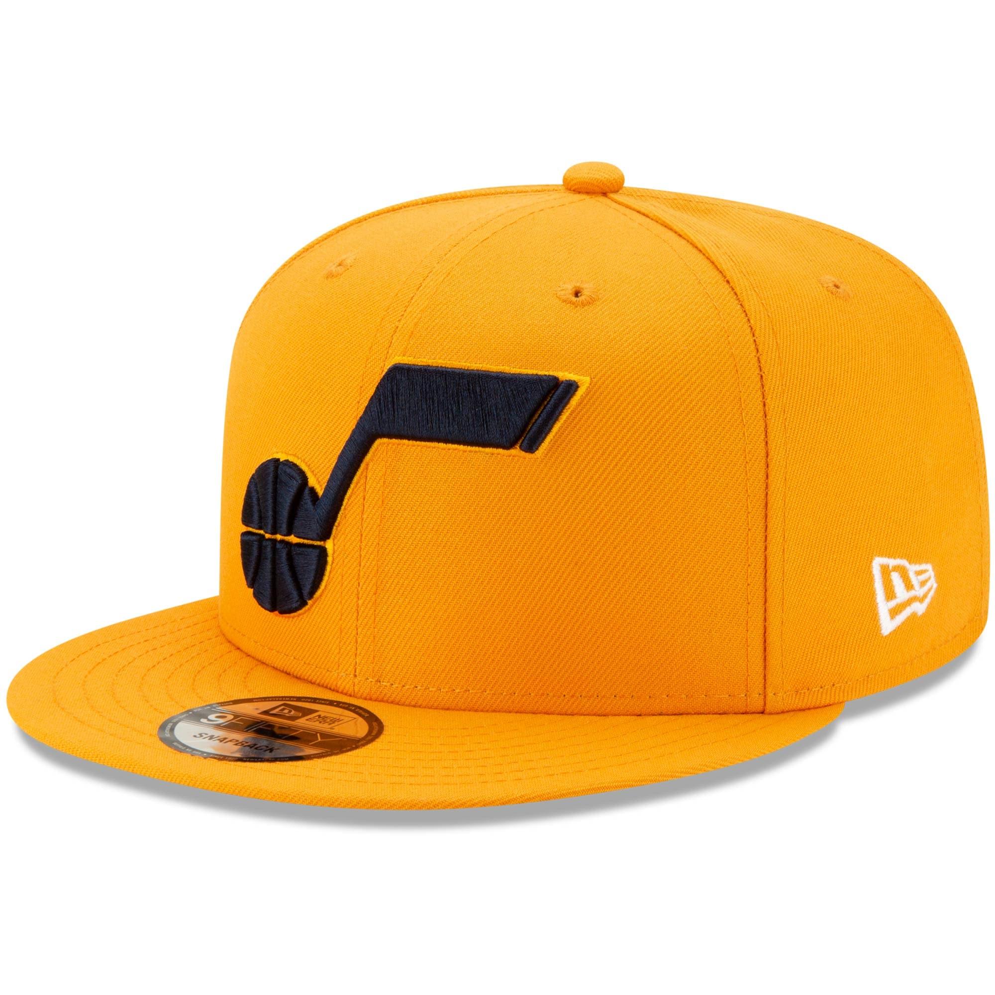 Utah Jazz New Era Statement Edition 9FIFTY Adjustable Hat - Gold