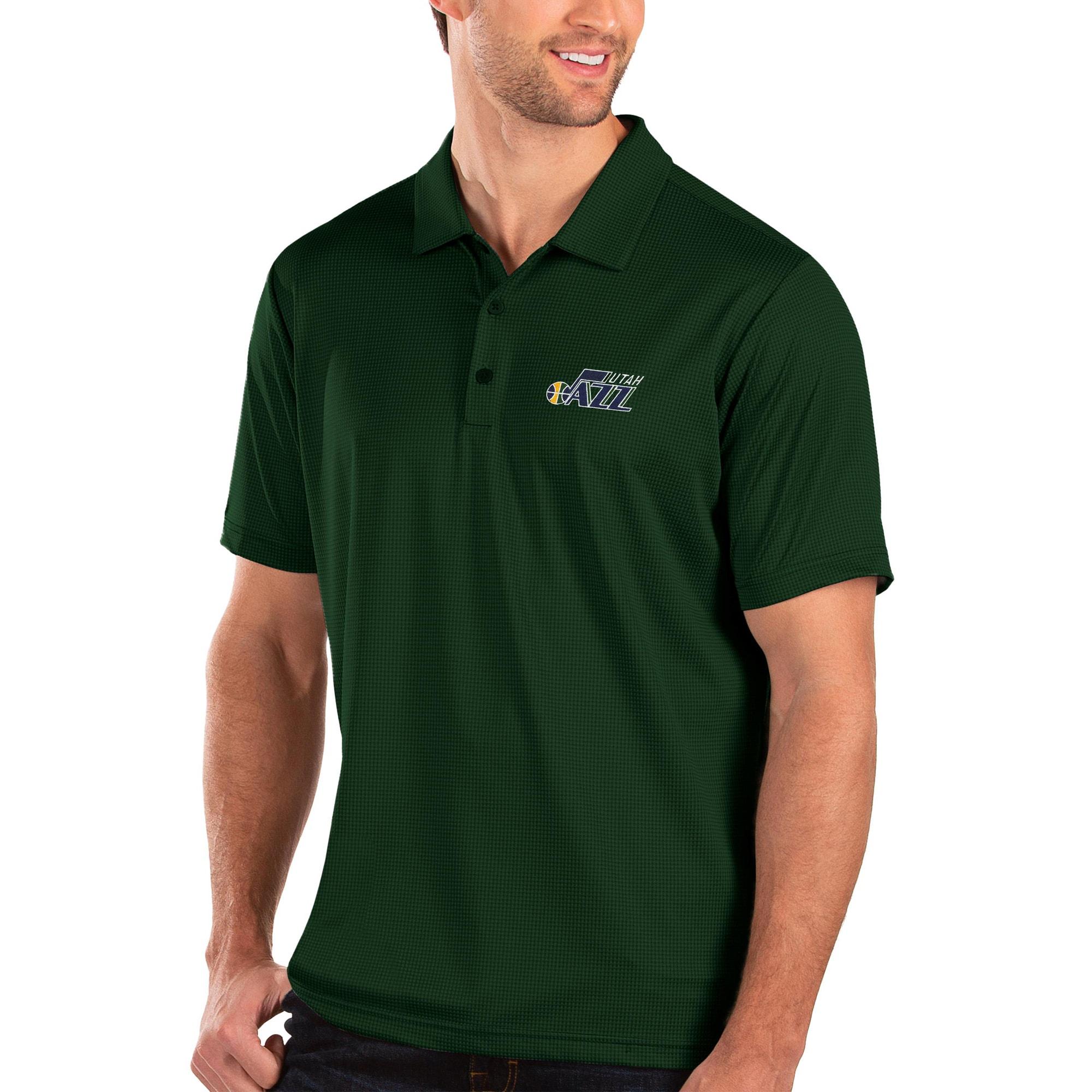 Utah Jazz Antigua Balance Polo - Green