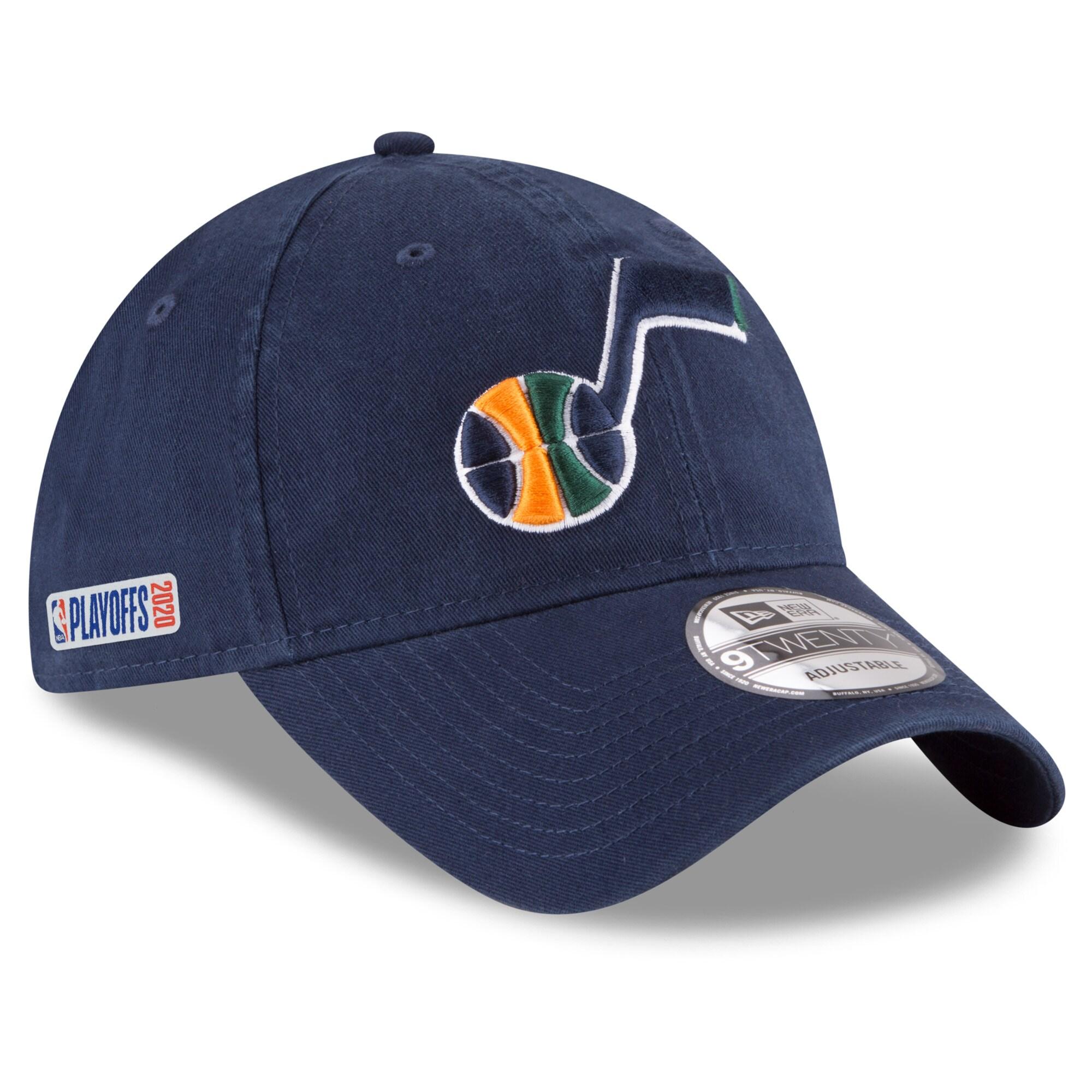 Utah Jazz New Era 2020 NBA Playoffs Bound 9TWENTY Adjustable Hat - Navy