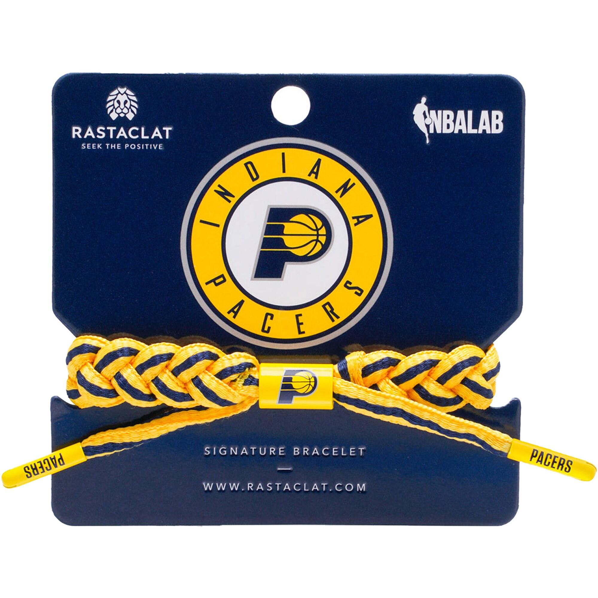 Indiana Pacers Rastaclat Team Signature Home Bracelet