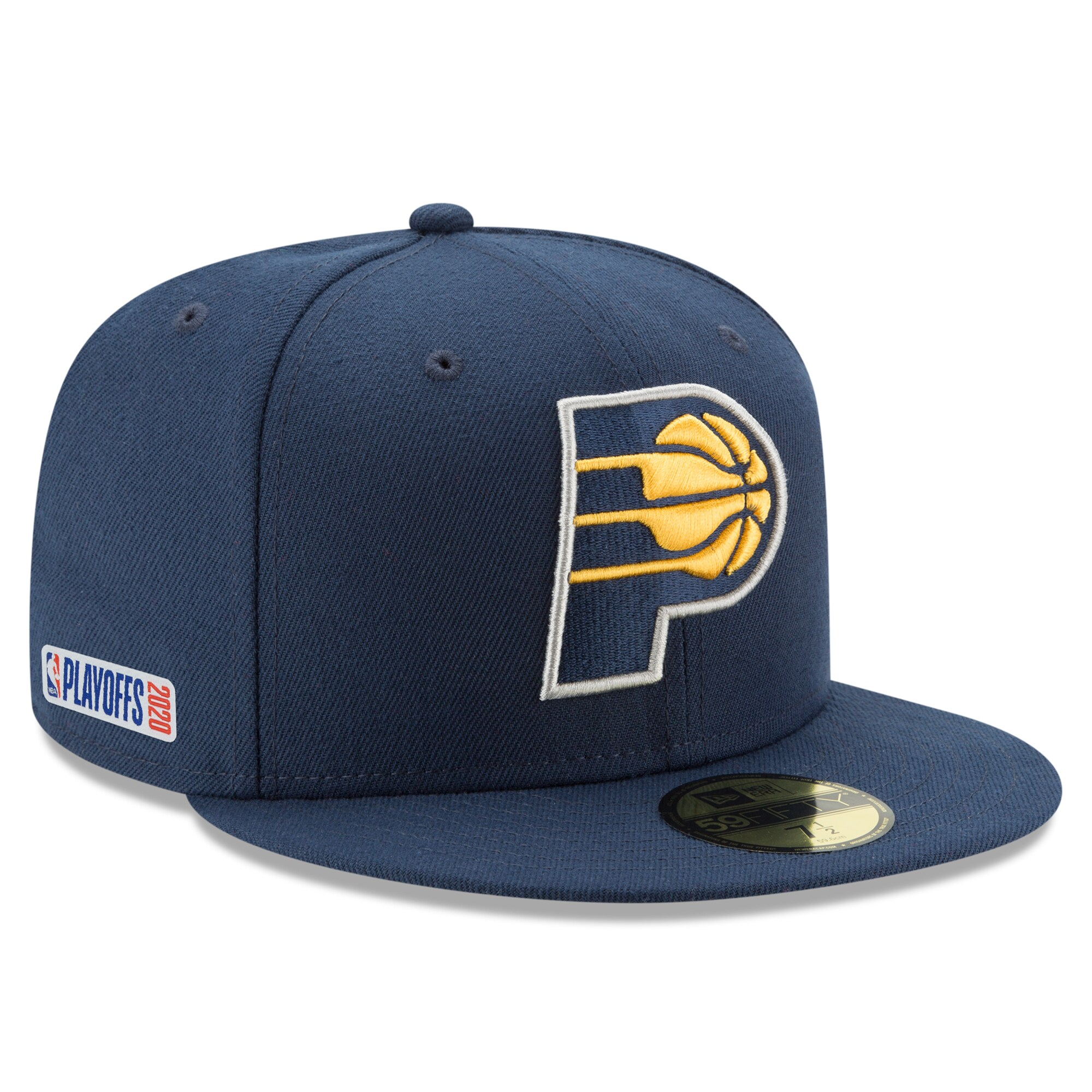 Indiana Pacers New Era 2020 NBA Playoffs Bound 59FIFTY Fitted Hat - Navy