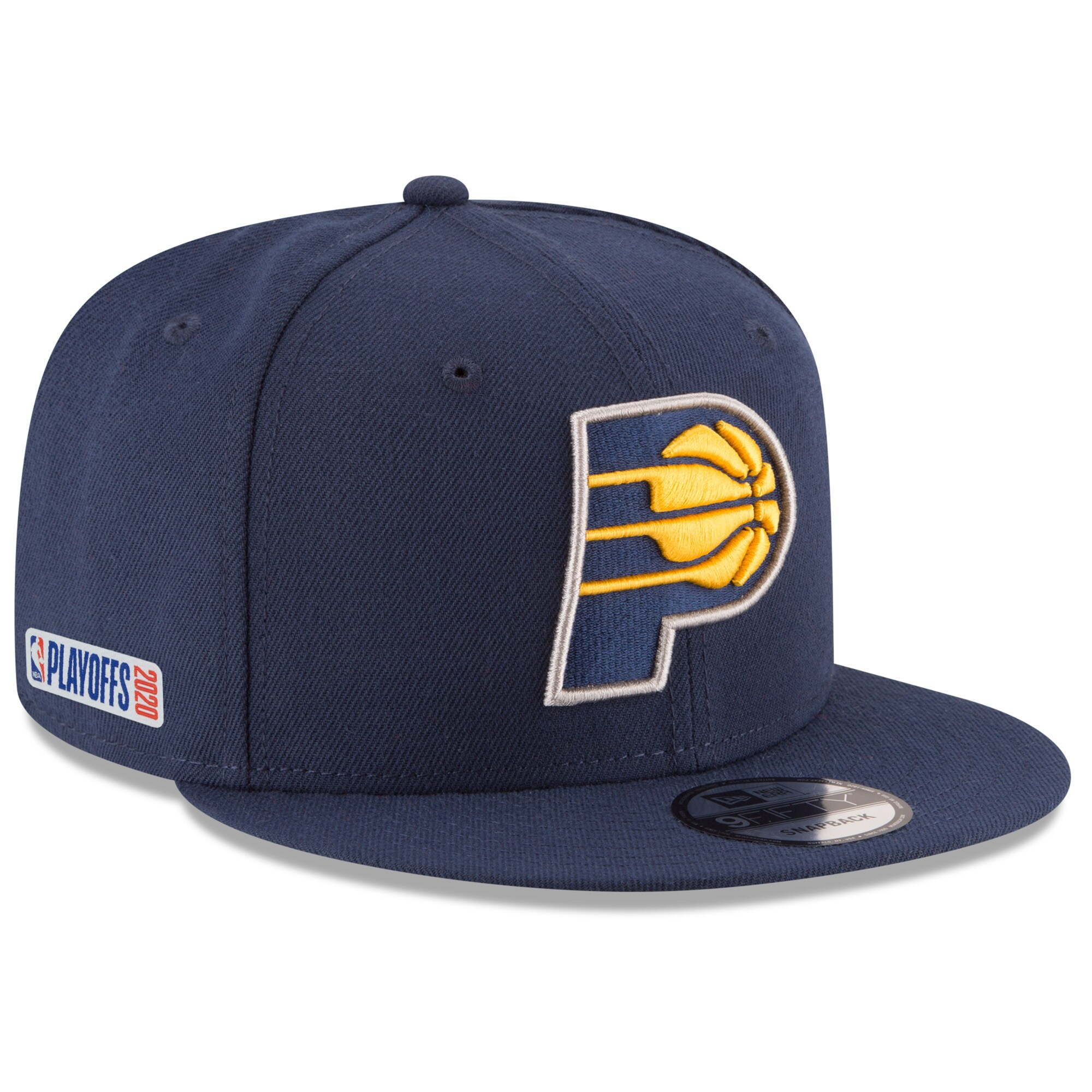 Indiana Pacers New Era 2020 NBA Playoffs Bound 9FIFTY Snapback Adjustable Hat - Navy