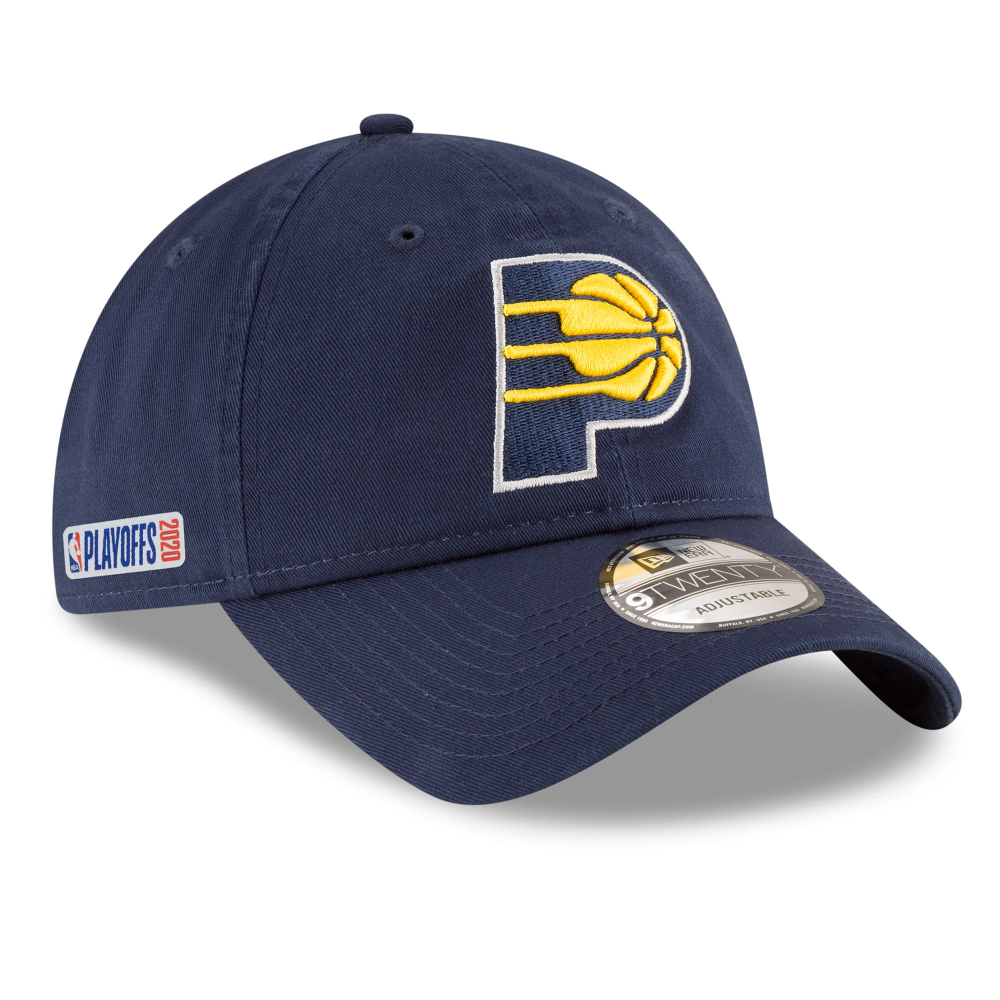 Indiana Pacers New Era 2020 NBA Playoffs Bound 9TWENTY Adjustable Hat - Navy