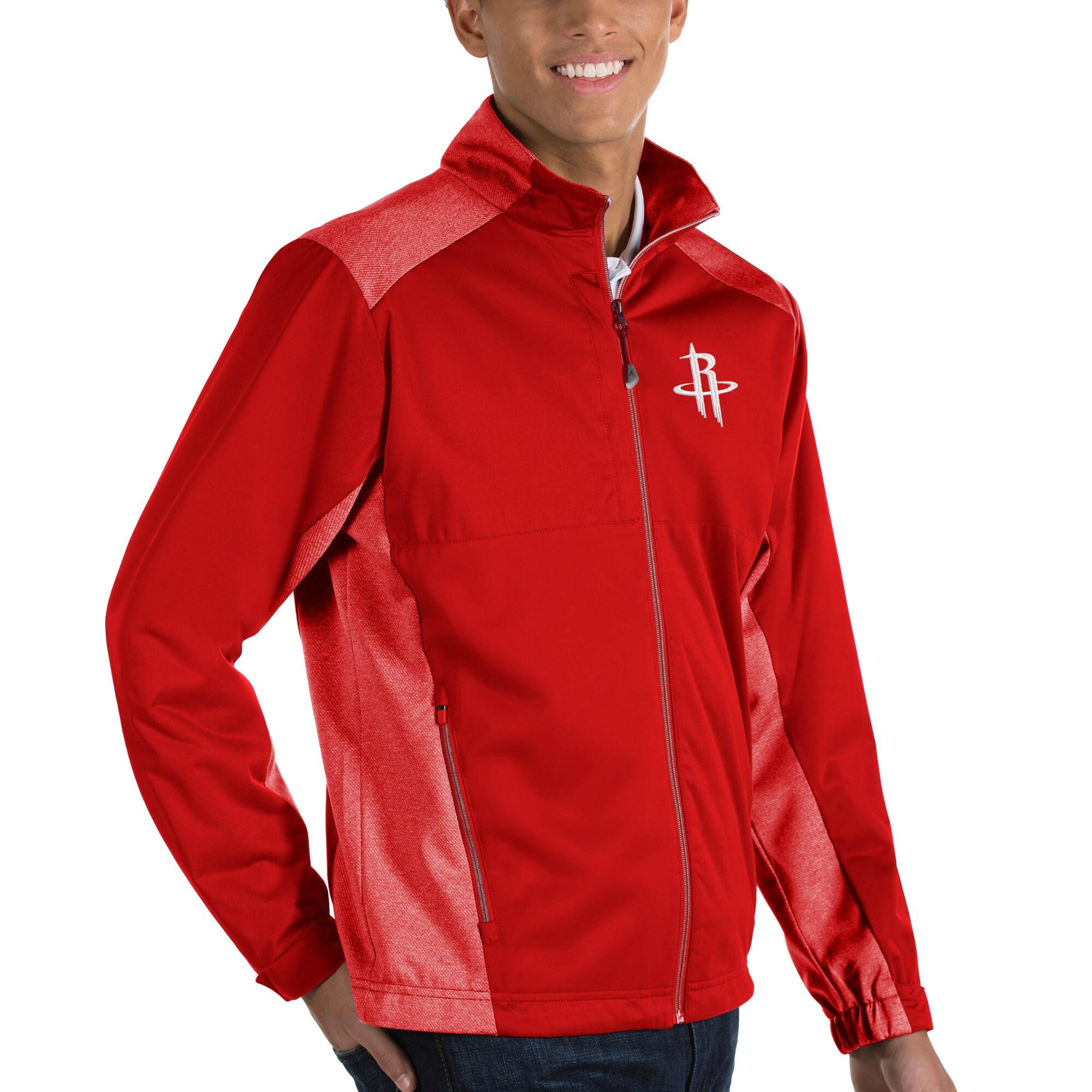 Houston Rockets Antigua Revolve Full-Zip Jacket - Red