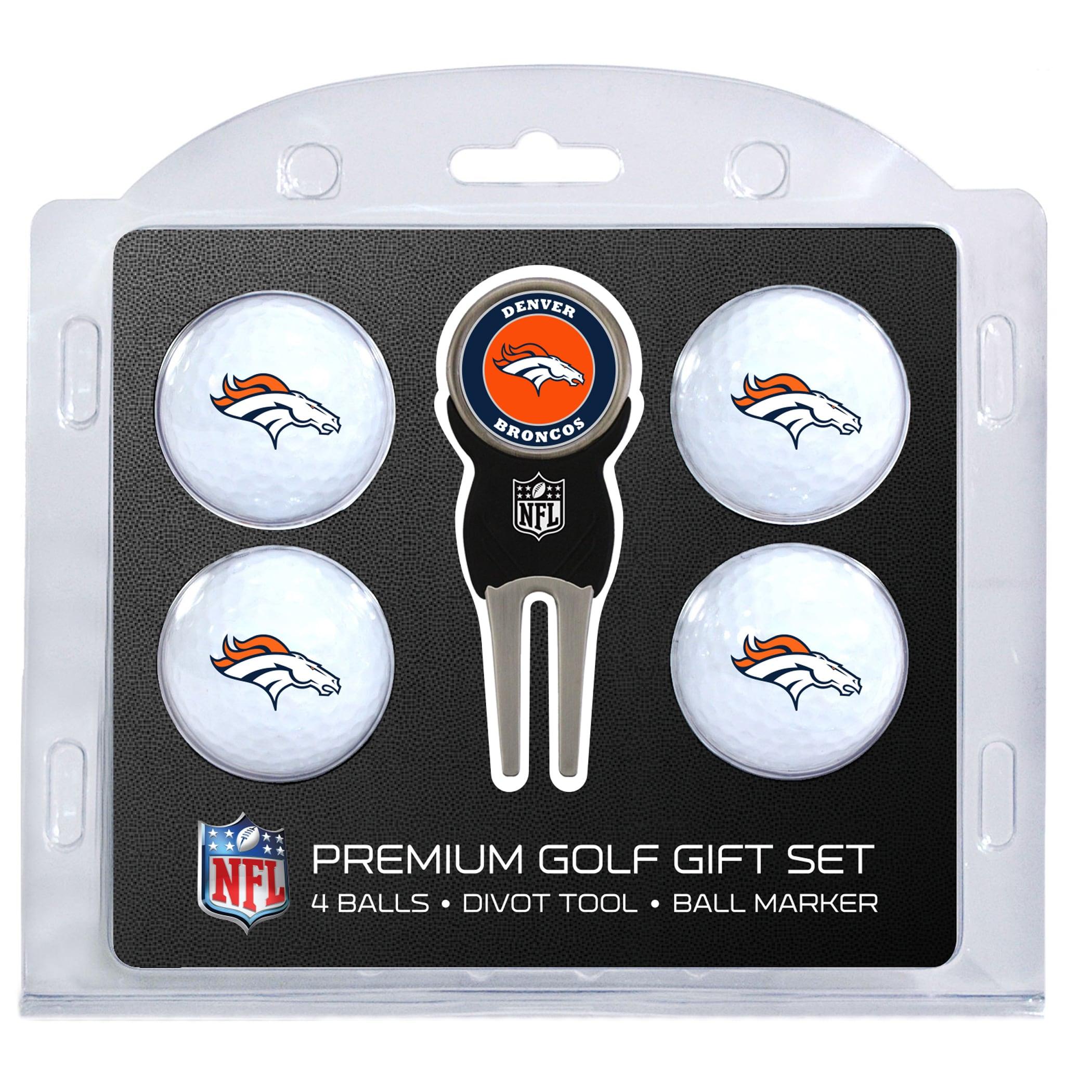 Denver Broncos 4-Ball Gift Set