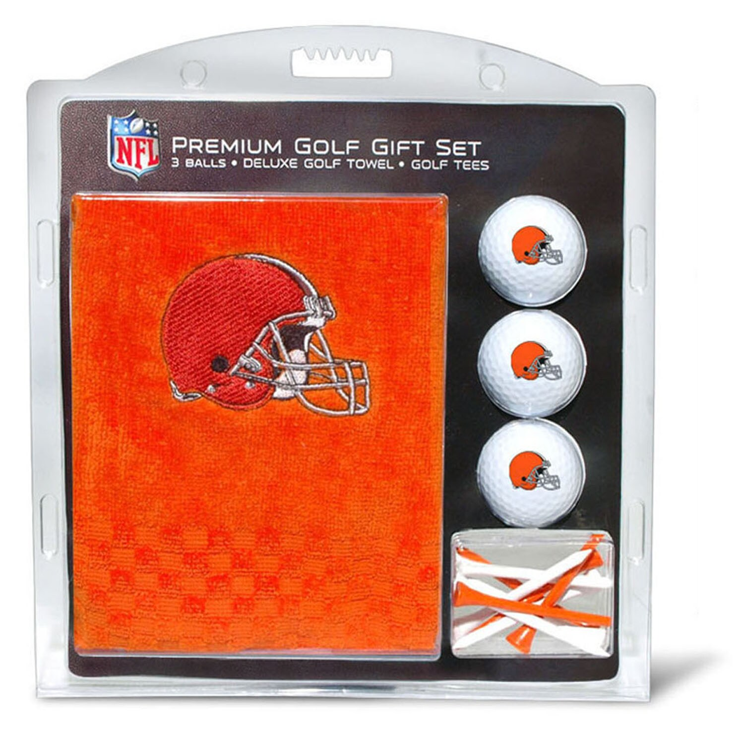 Cleveland Browns Embroidered Golf Gift Set
