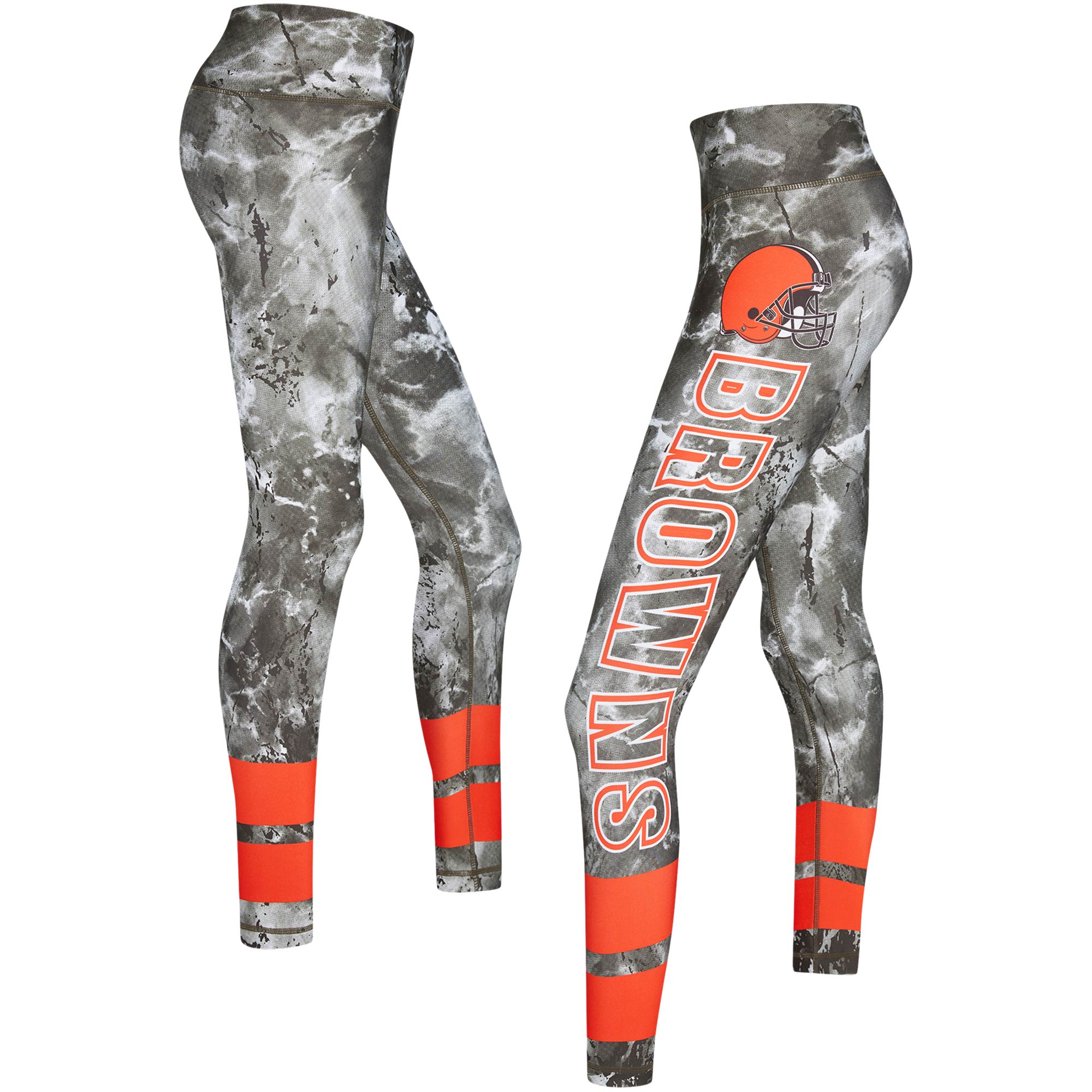 Cleveland Browns Concepts Sport Women's Dormer Knit Leggings - Brown/Orange