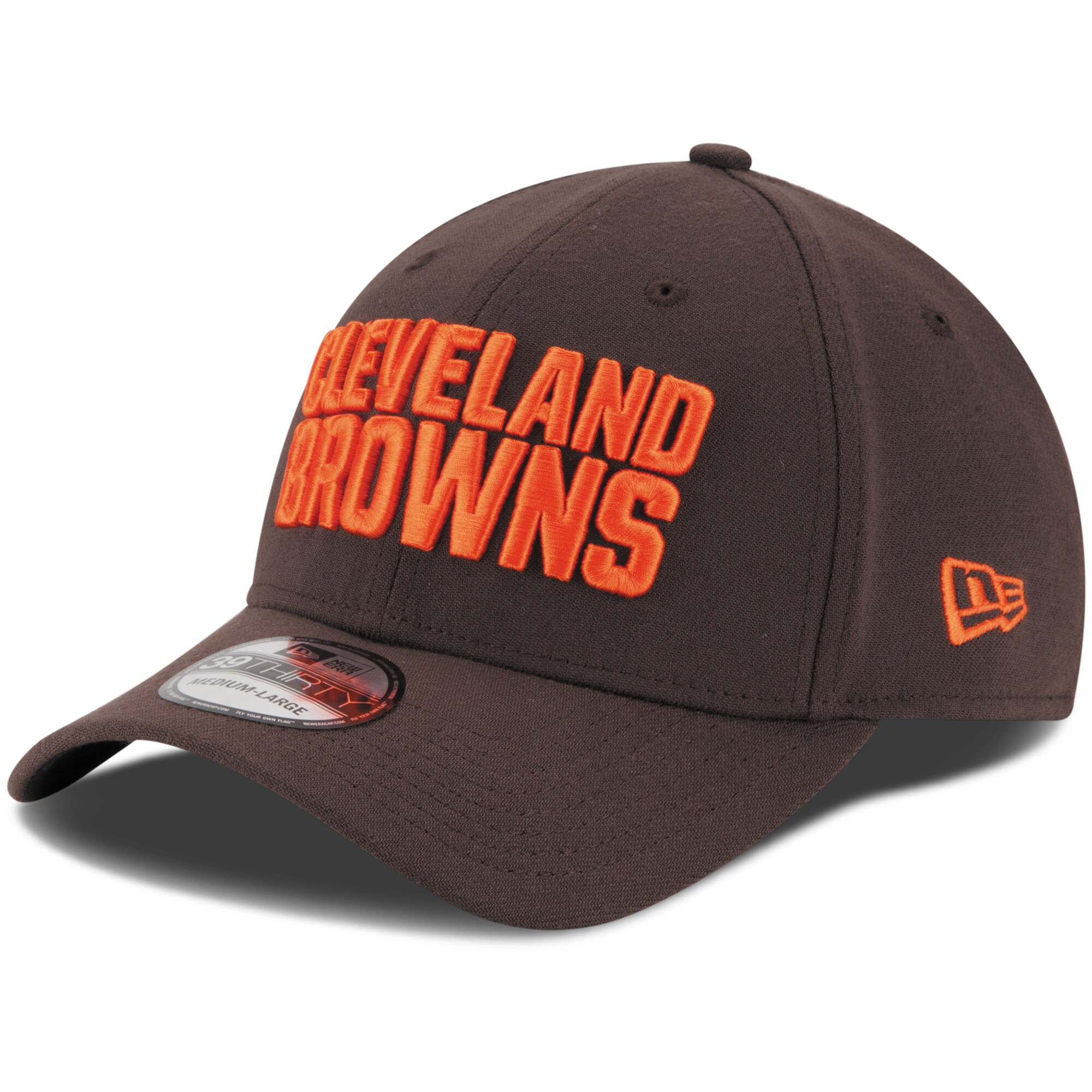 Cleveland Browns New Era Youth Team Classic 39THIRTY Flex Hat - Brown