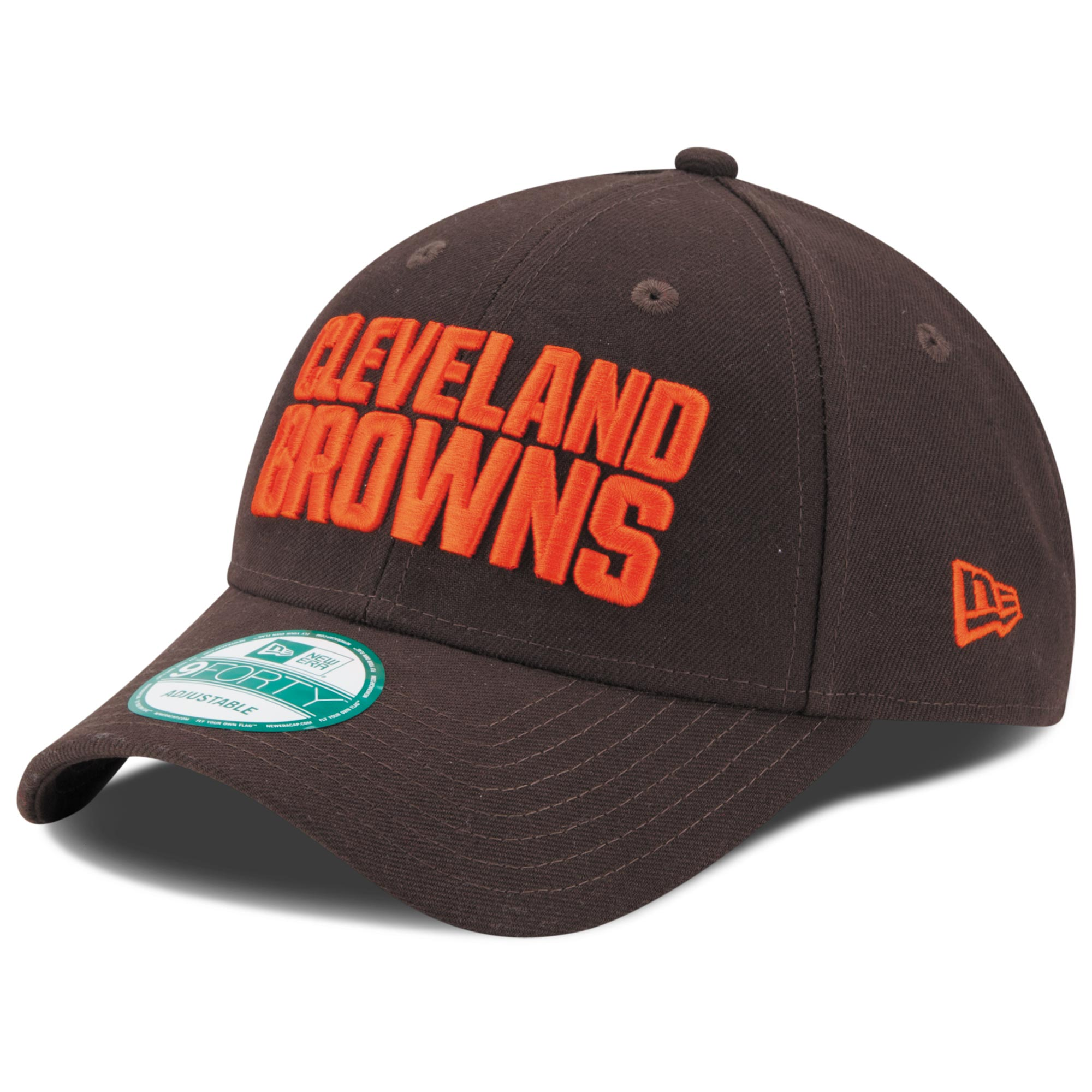 Cleveland Browns New Era Youth League 9FORTY Adjustable Hat - Brown