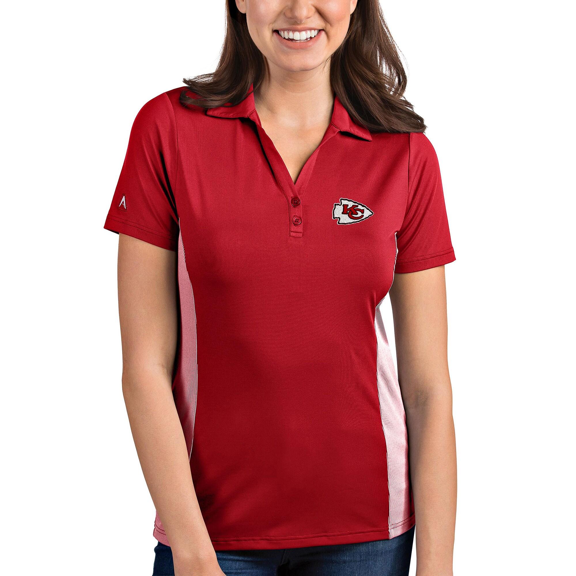 Kansas City Chiefs Antigua Women's Venture Polo - Red