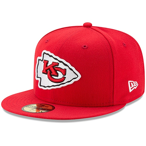 Kansas City Chiefs New Era Omaha 59FIFTY Fitted Hat - Red