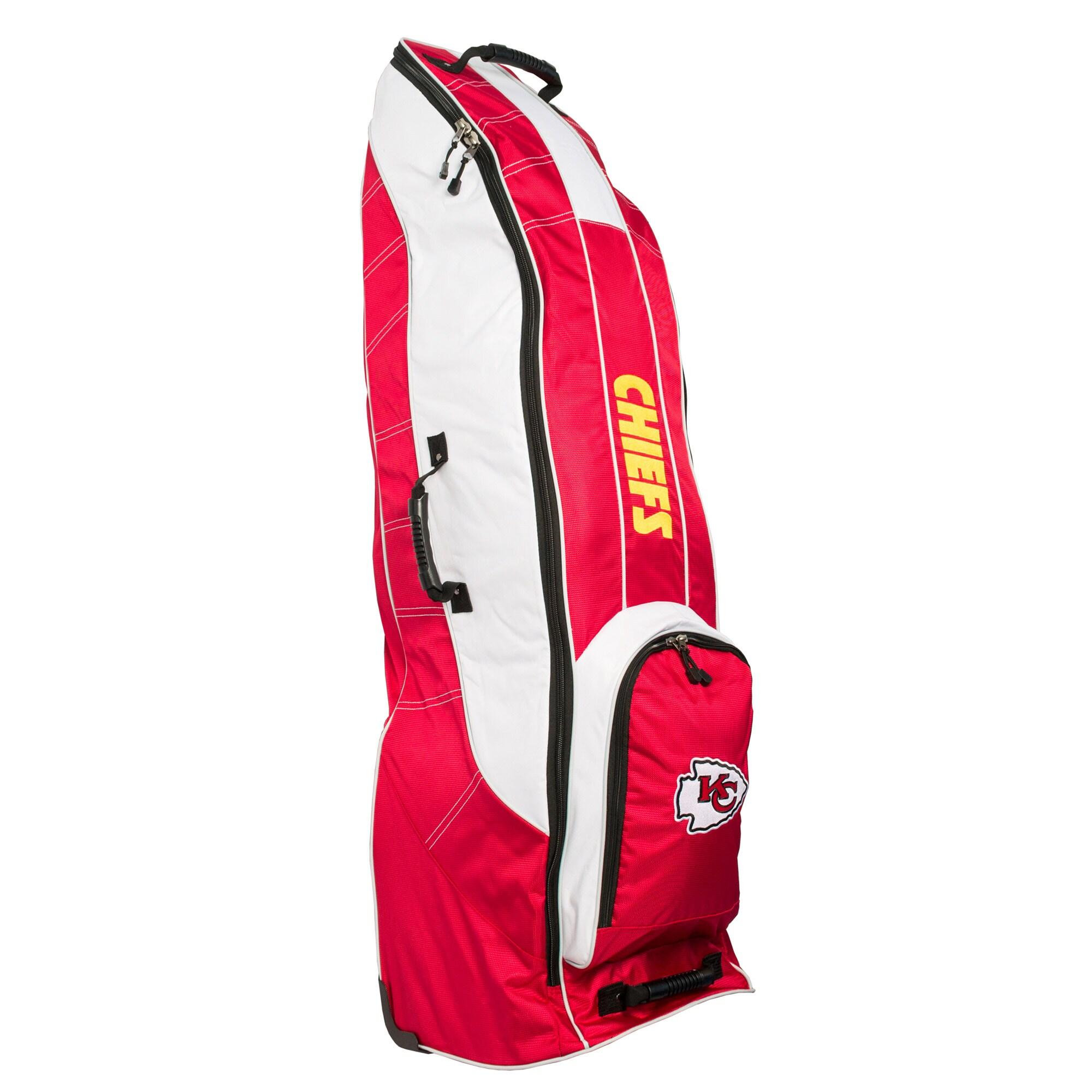 Kansas City Chiefs Team Golf Travel Bag