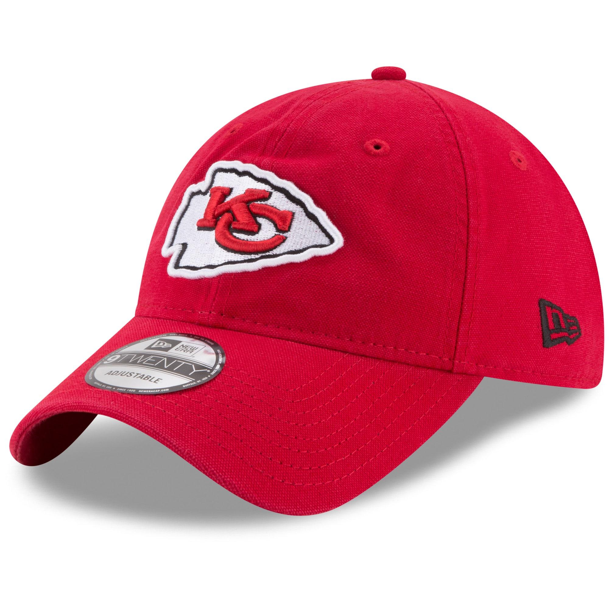 Kansas City Chiefs New Era Core Classic 9TWENTY Adjustable Hat - Red