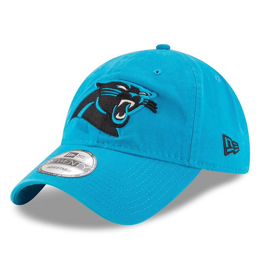 Carolina Panthers New Era Core Classic 9TWENTY Adjustable Hat - Blue